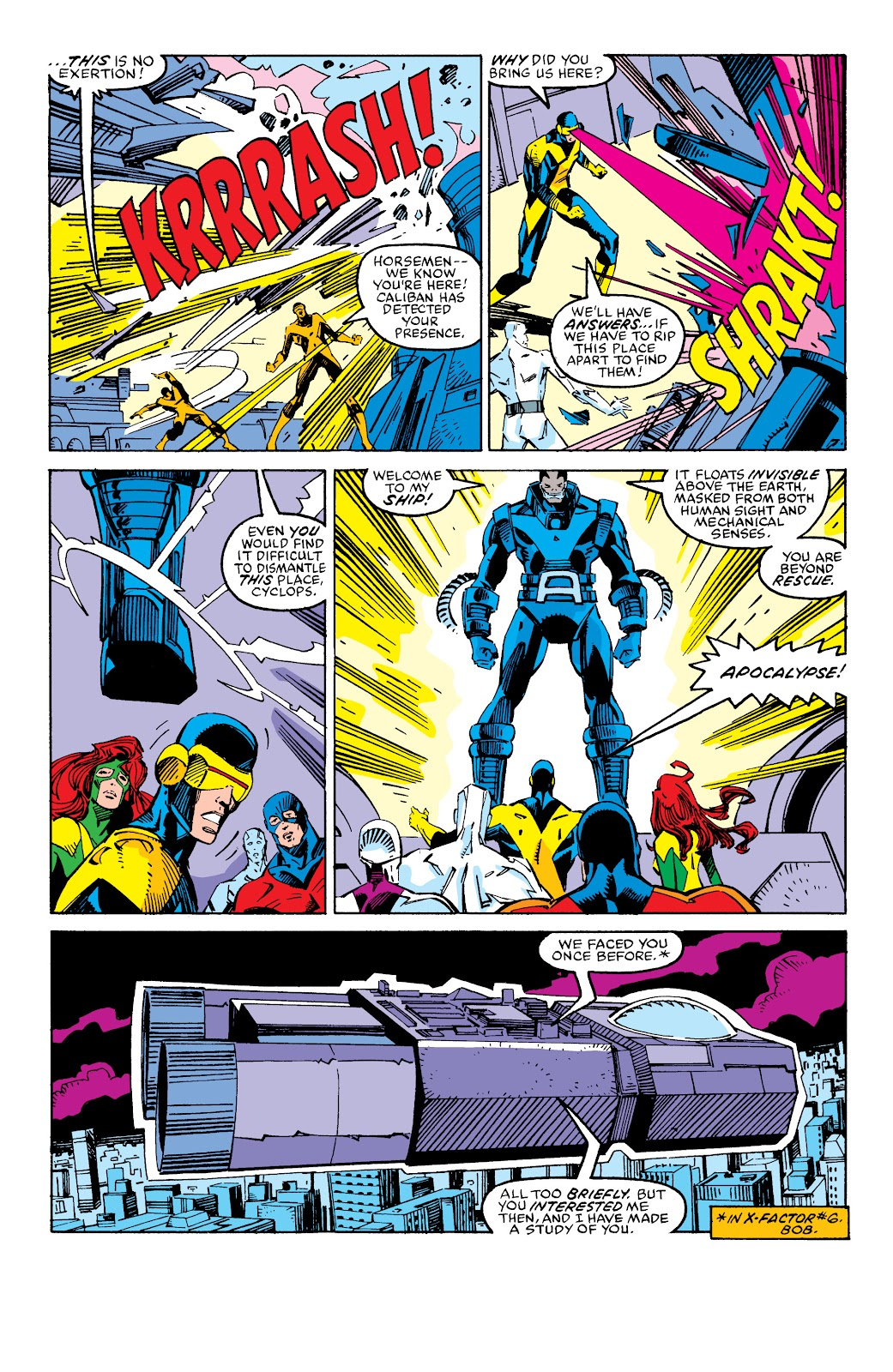 Read online X-Men Milestones: Fall of the Mutants comic -  Issue # TPB (Part 2) - 83