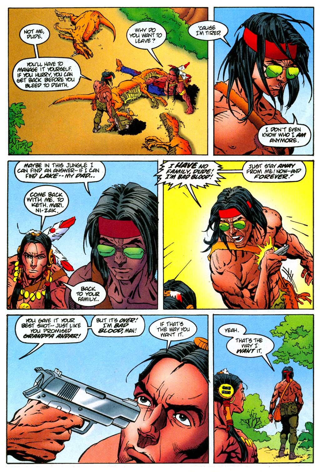 Read online Turok, Dinosaur Hunter (1993) comic -  Issue #47 - 15