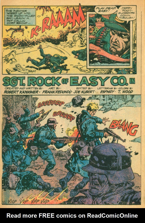 Read online Sgt. Rock comic -  Issue #328 - 3