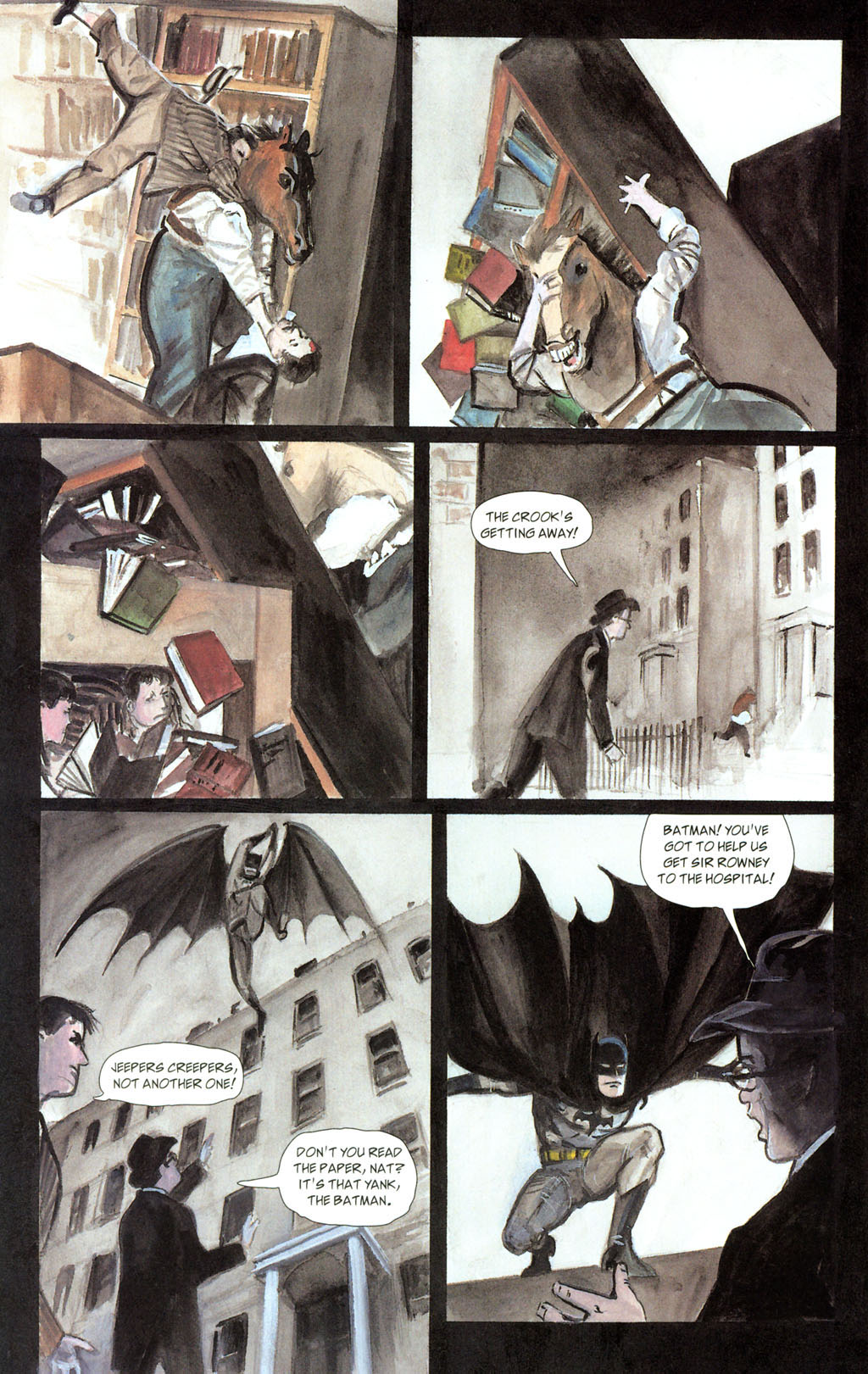 Read online Batman: The Order of Beasts comic -  Issue # Full - 38