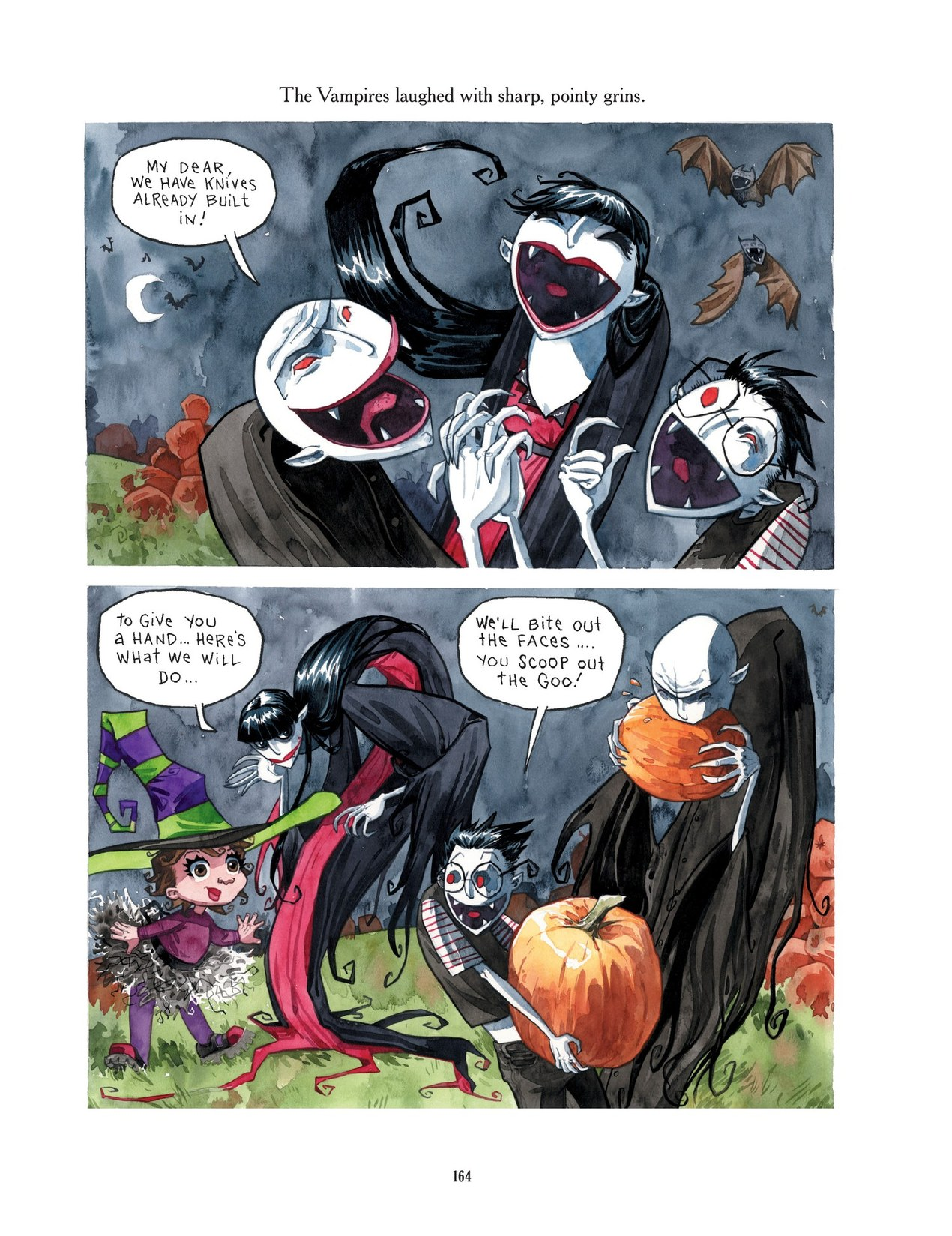 Read online Scary Godmother comic -  Issue # TPB - 164