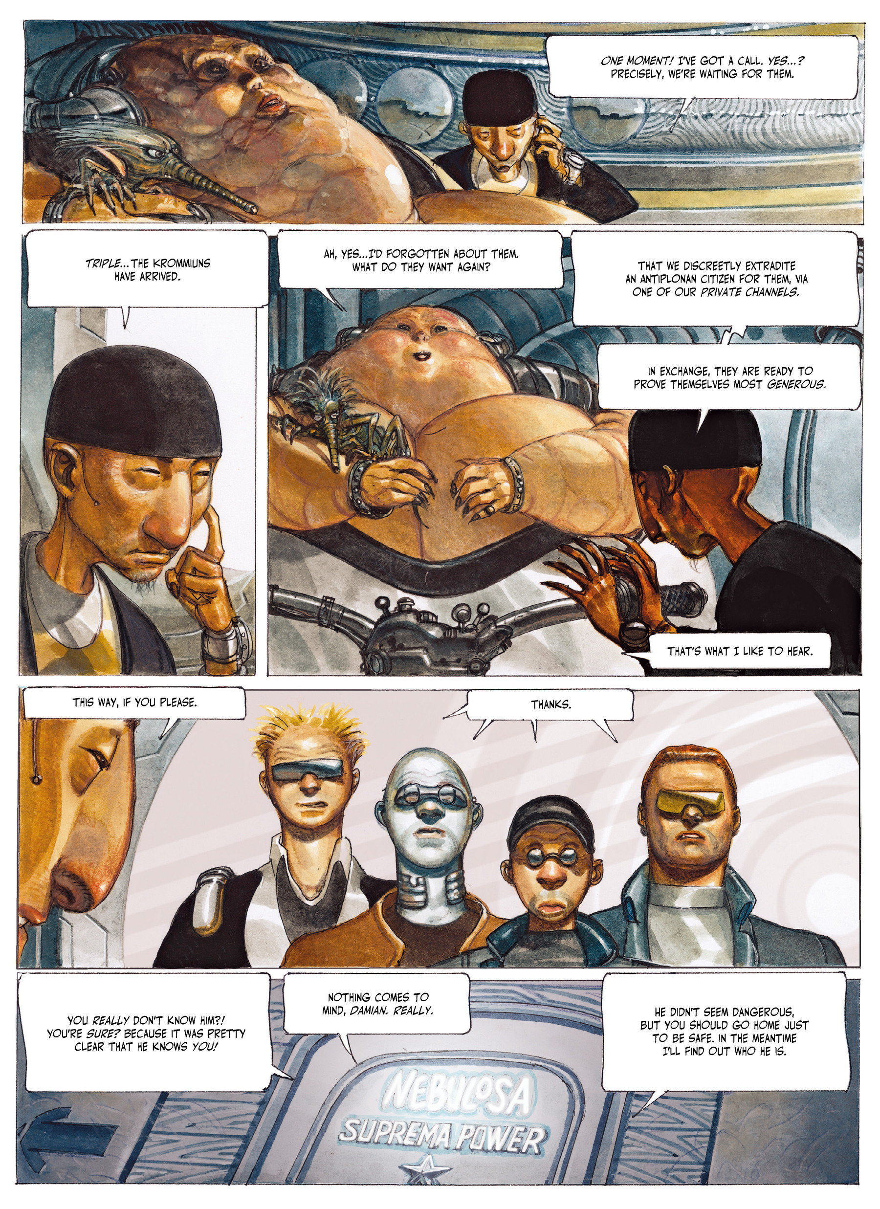 Read online The Fourth Power comic -  Issue #2 - 18