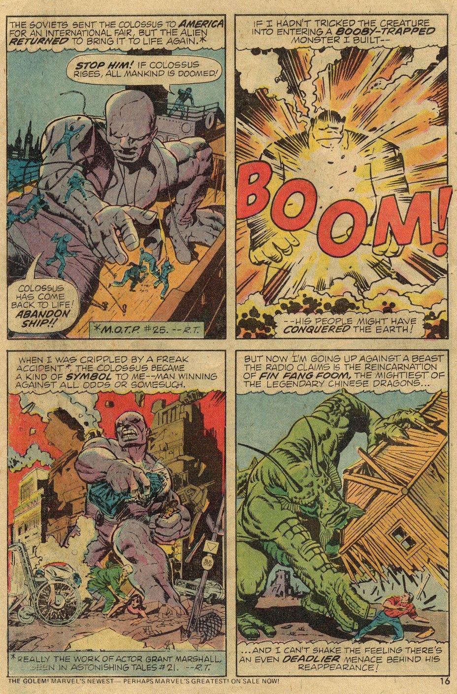 Read online Astonishing Tales (1970) comic -  Issue #24 - 10