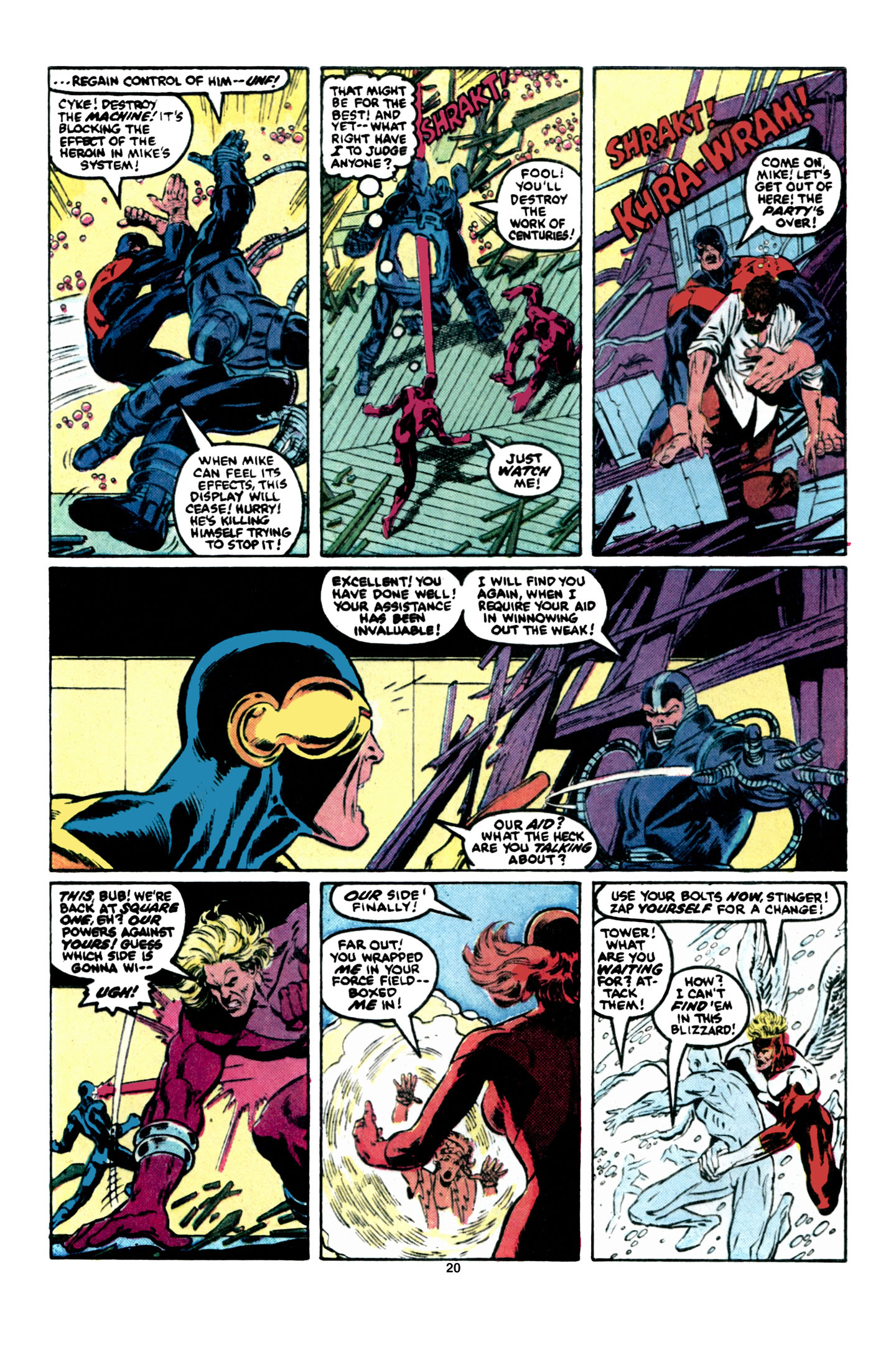 Read online X-Factor (1986) comic -  Issue #6 - 21