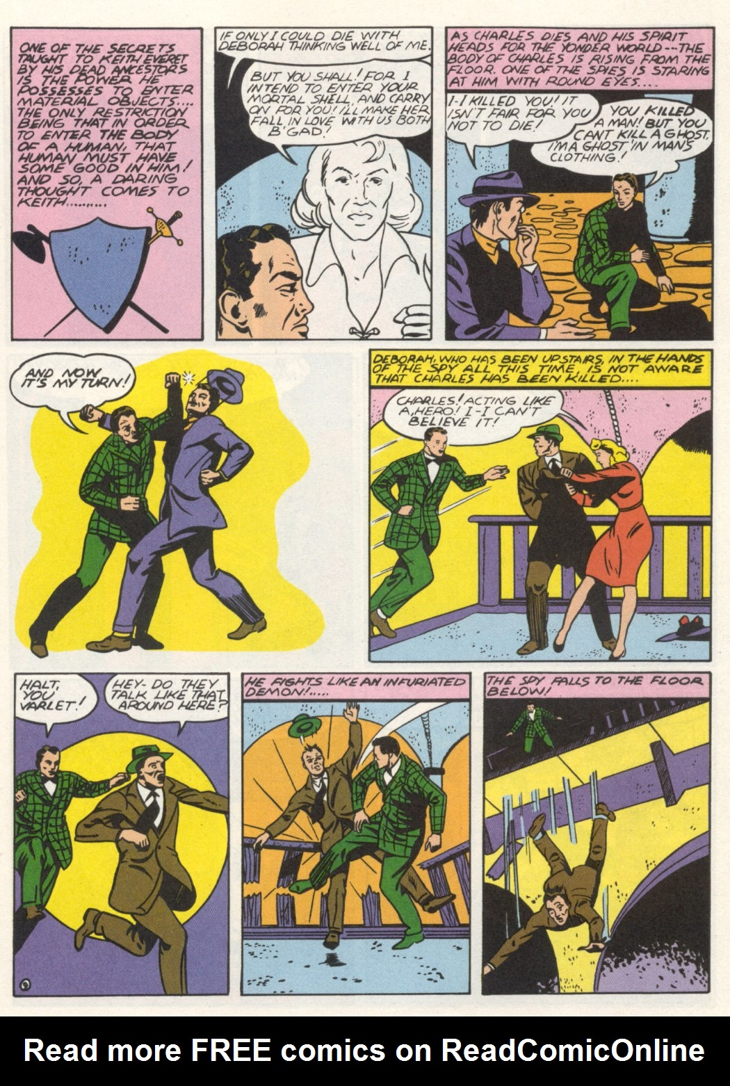 Read online Sensation (Mystery) Comics comic -  Issue #1 - 41