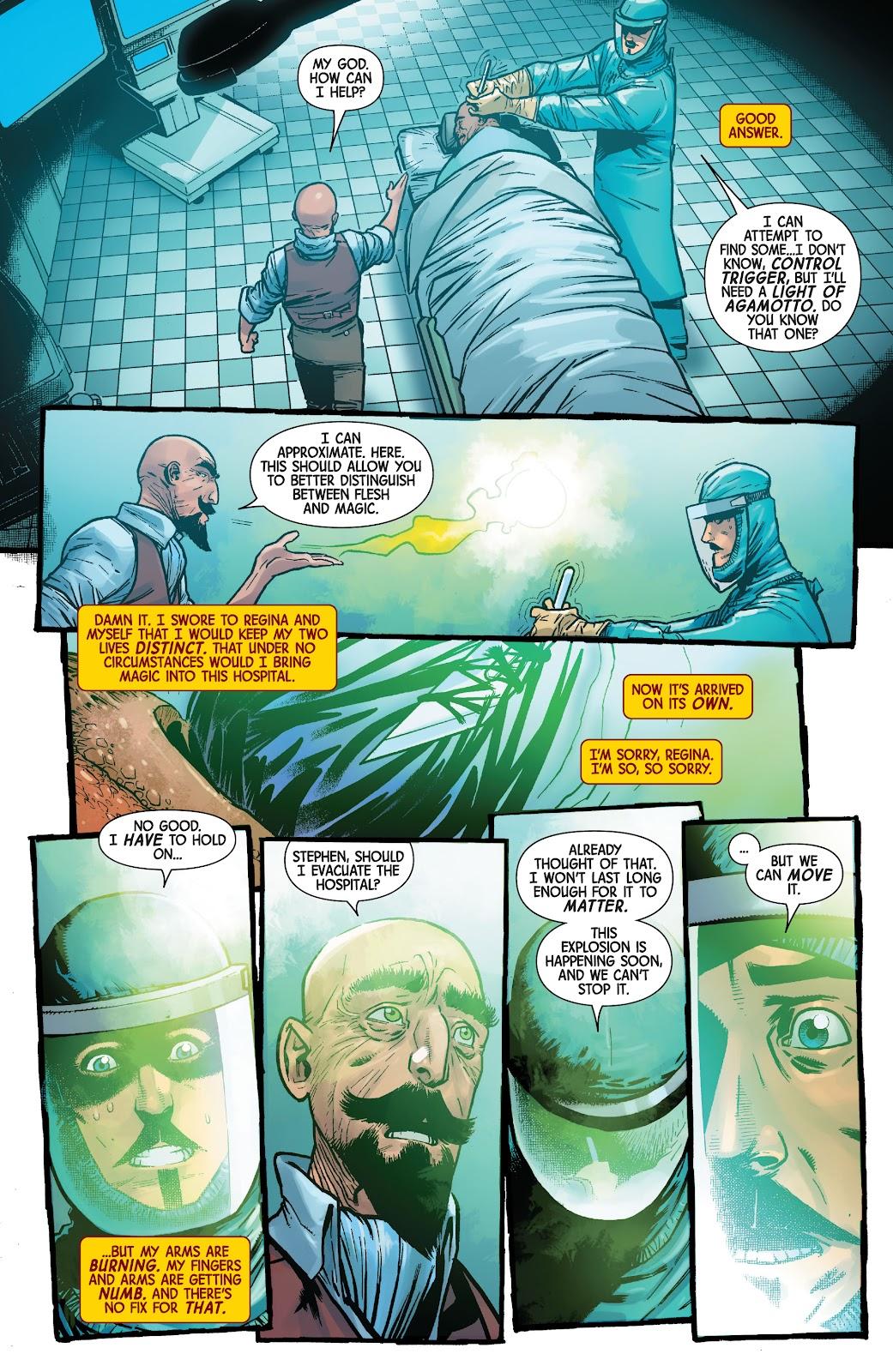Read online Dr. Strange comic -  Issue #4 - 16