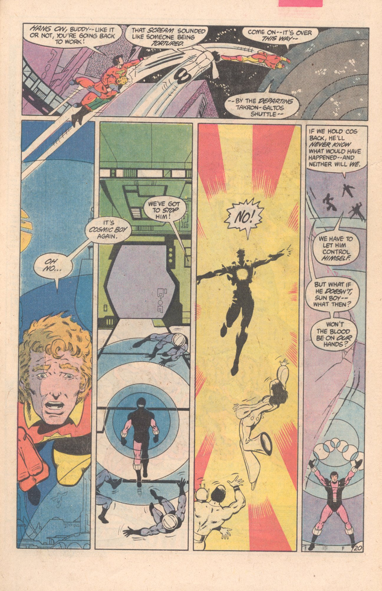 Legion of Super-Heroes (1980) 297 Page 20