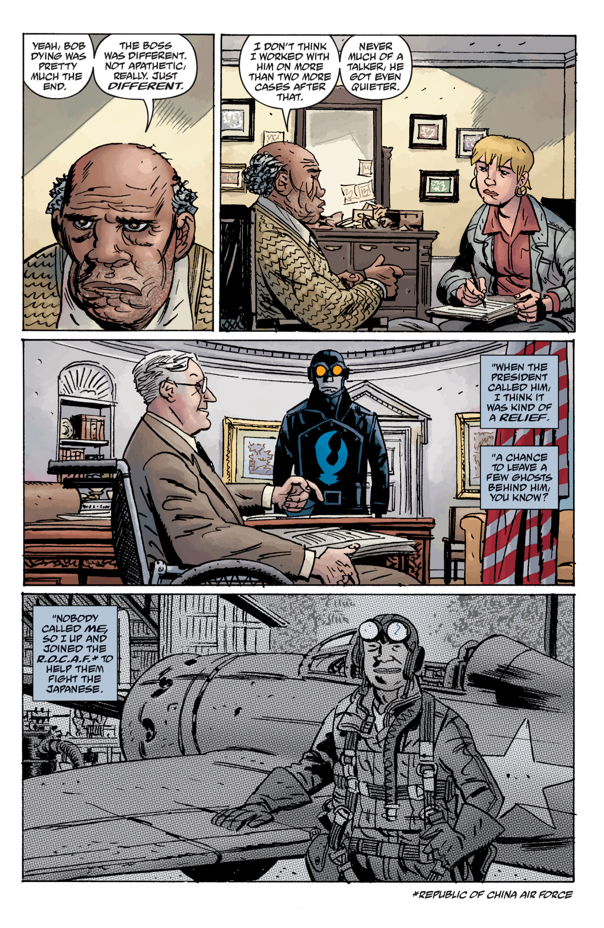 Read online B.P.R.D. (2003) comic -  Issue # TPB 11 - 25