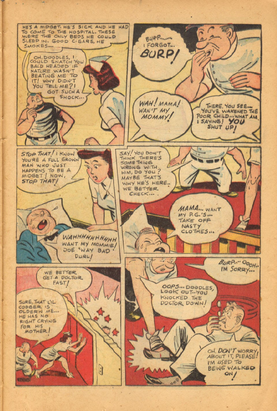 Read online Super-Magician Comics comic -  Issue #50 - 37