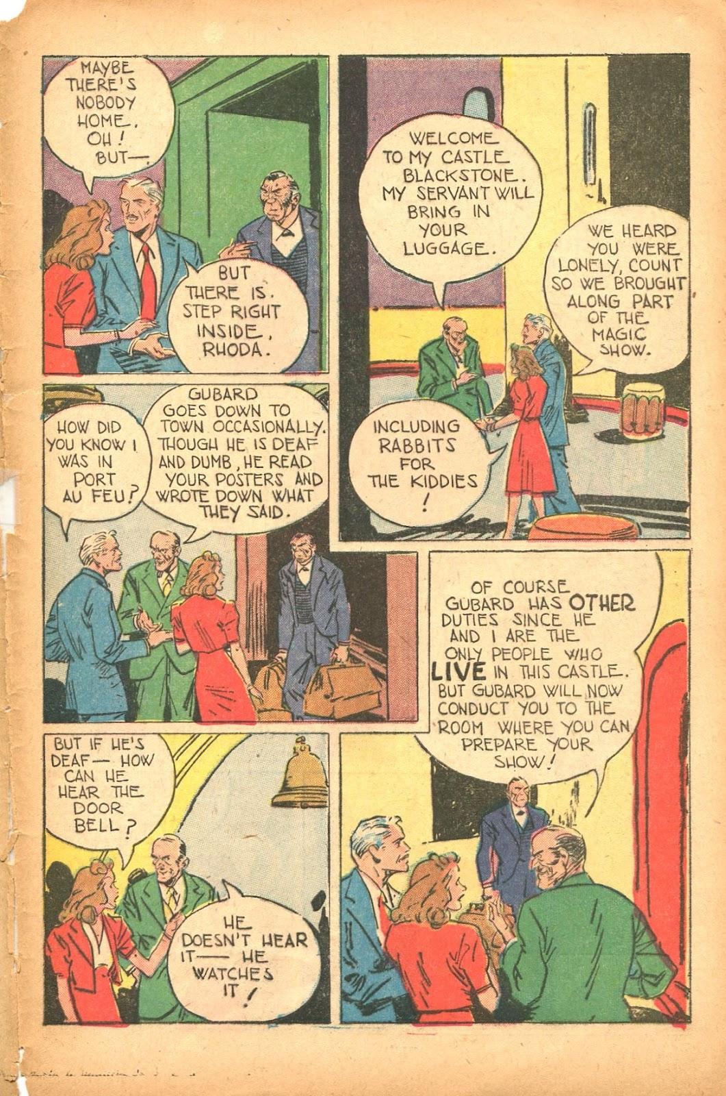 Read online Super-Magician Comics comic -  Issue #35 - 45