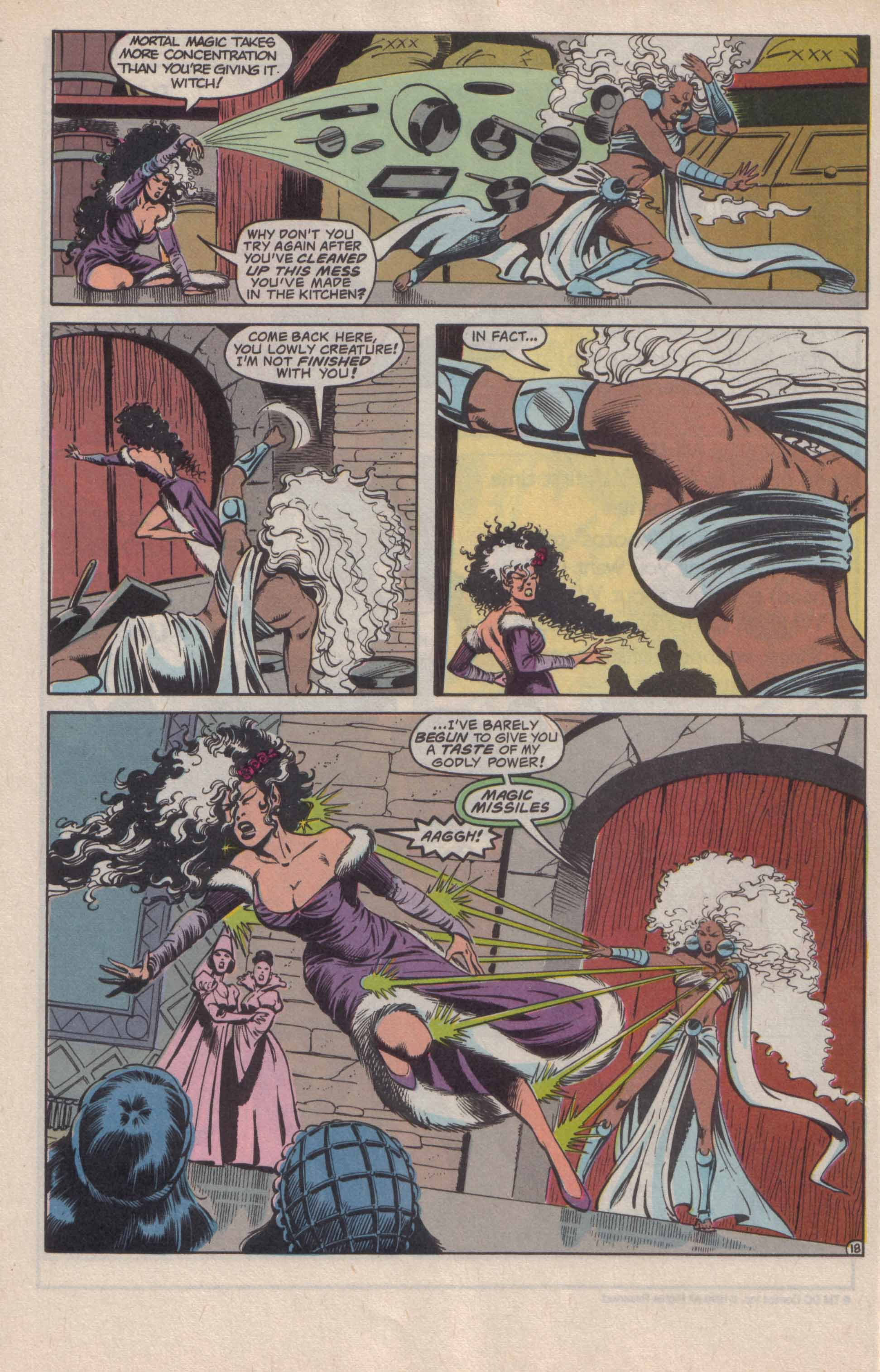 Read online Advanced Dungeons & Dragons comic -  Issue #20 - 19