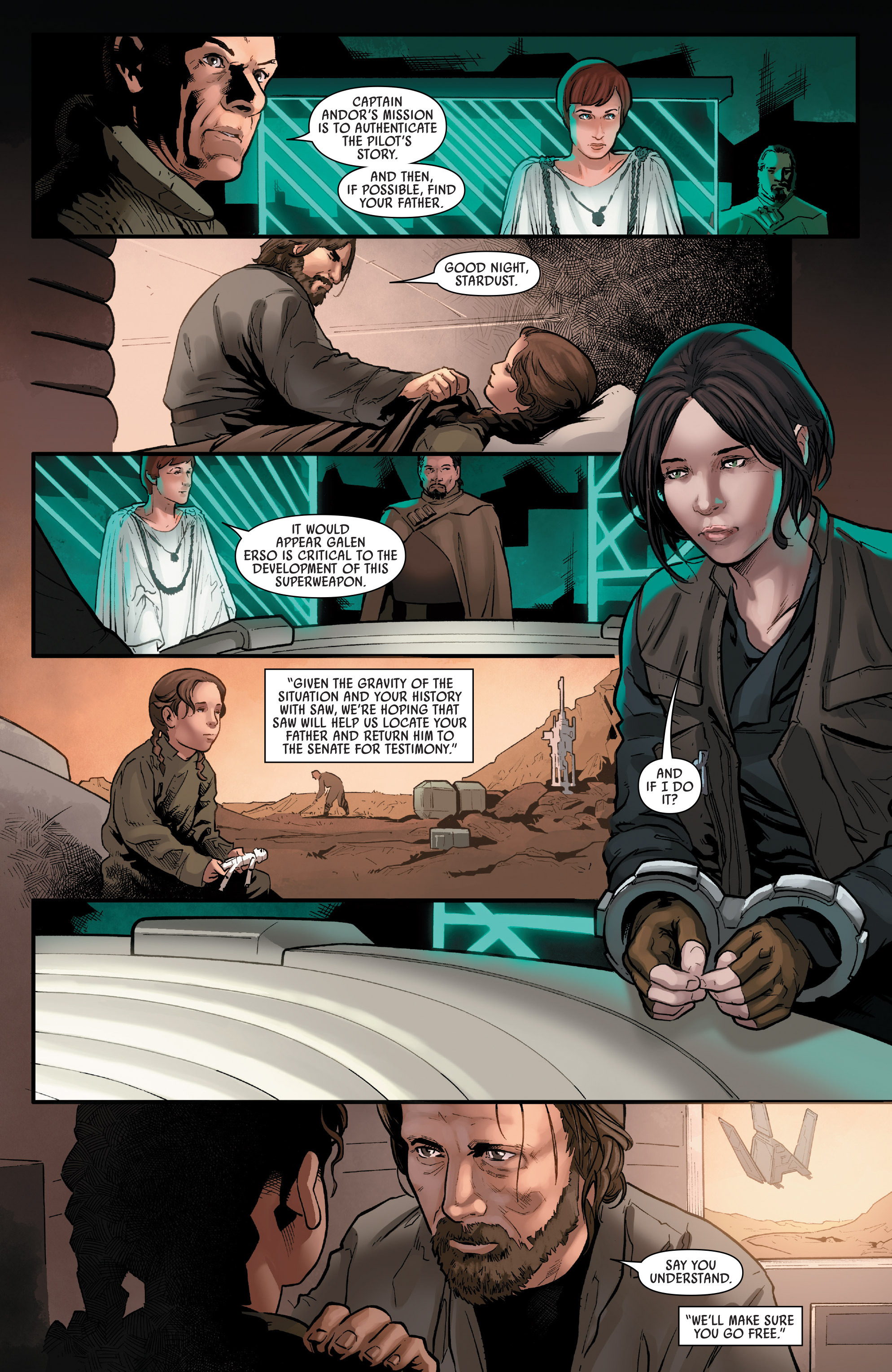 Read online Star Wars: Rogue One Adaptation comic -  Issue #1 - 25