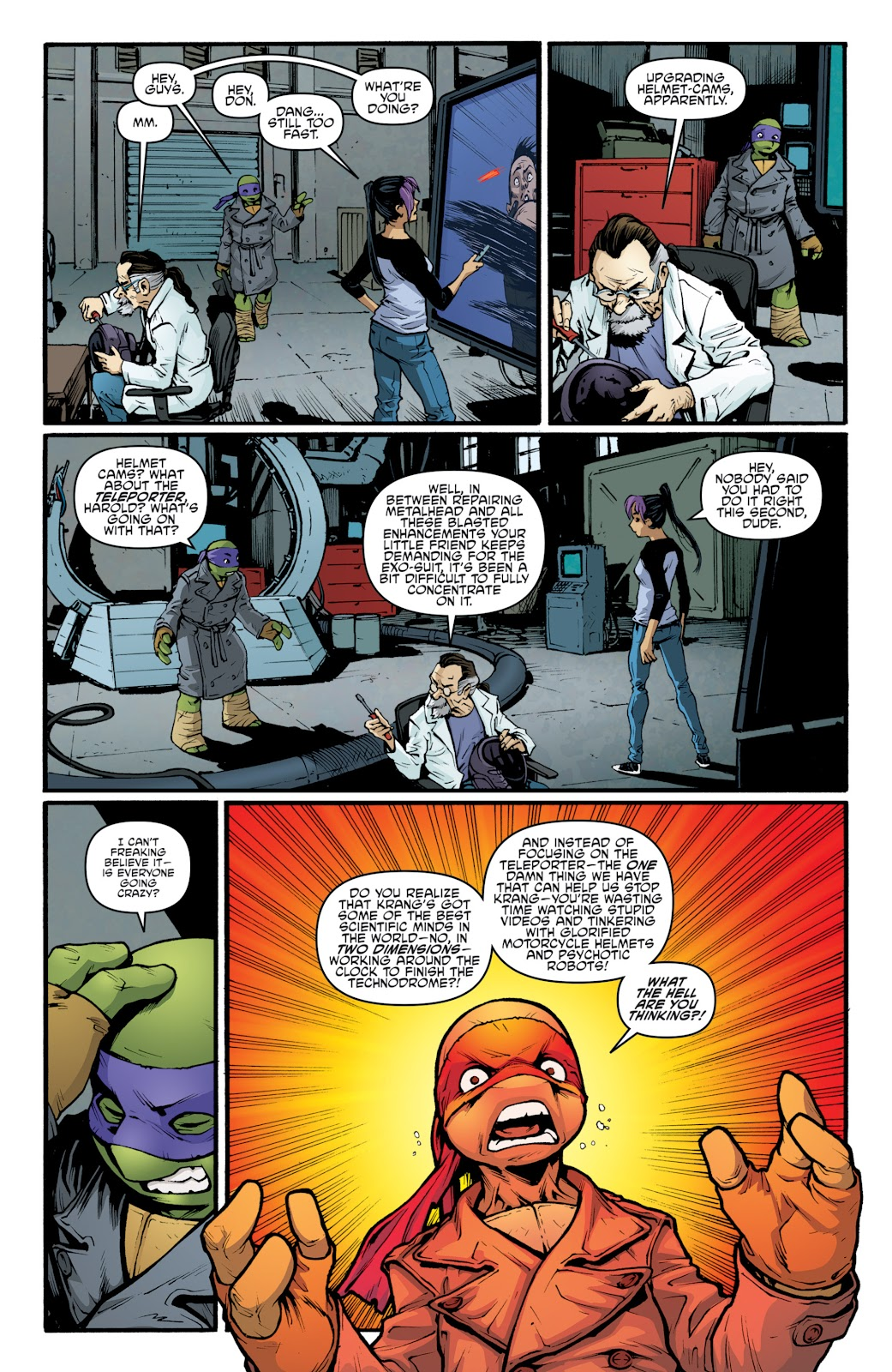 Read online Teenage Mutant Ninja Turtles: The IDW Collection comic -  Issue # TPB 5 (Part 2) - 31
