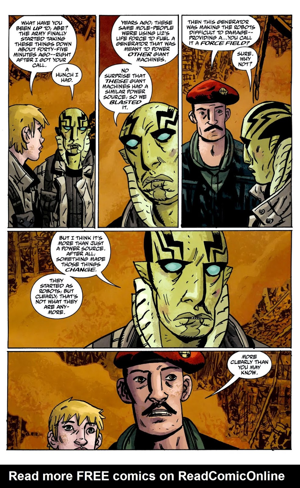 B.P.R.D.: The Warning issue 5 - Page 10