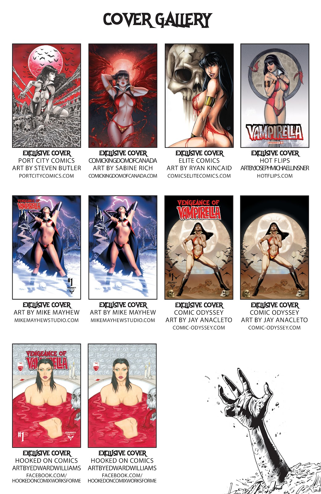 Read online Vengeance of Vampirella (2019) comic -  Issue #1 - 33