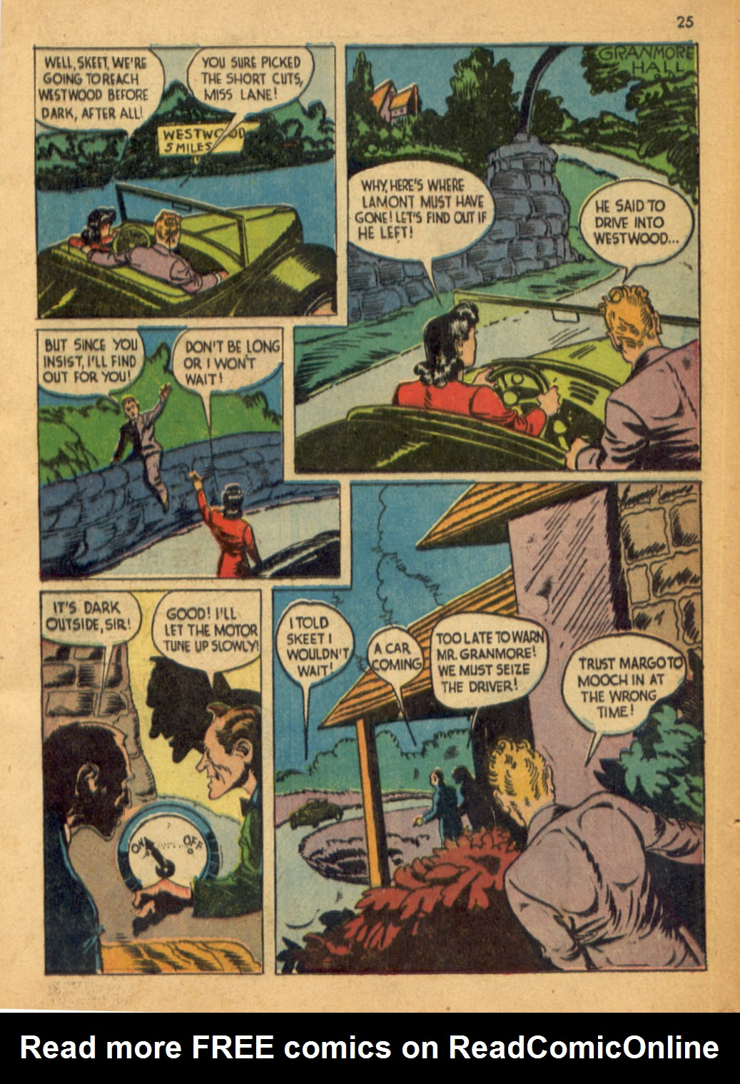 Read online Shadow Comics comic -  Issue #32 - 26