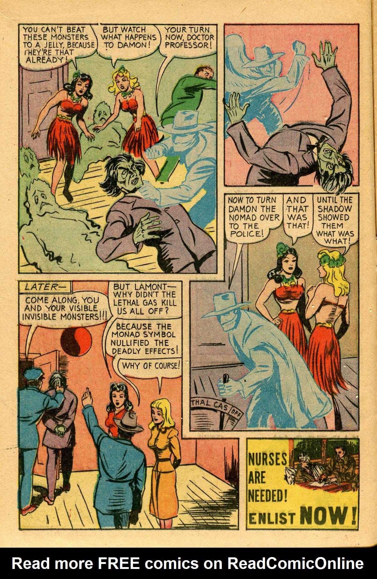 Read online Shadow Comics comic -  Issue #53 - 17