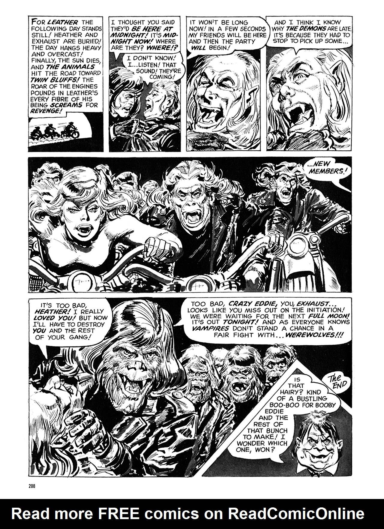 Read online Eerie Archives comic -  Issue # TPB 5 - 209