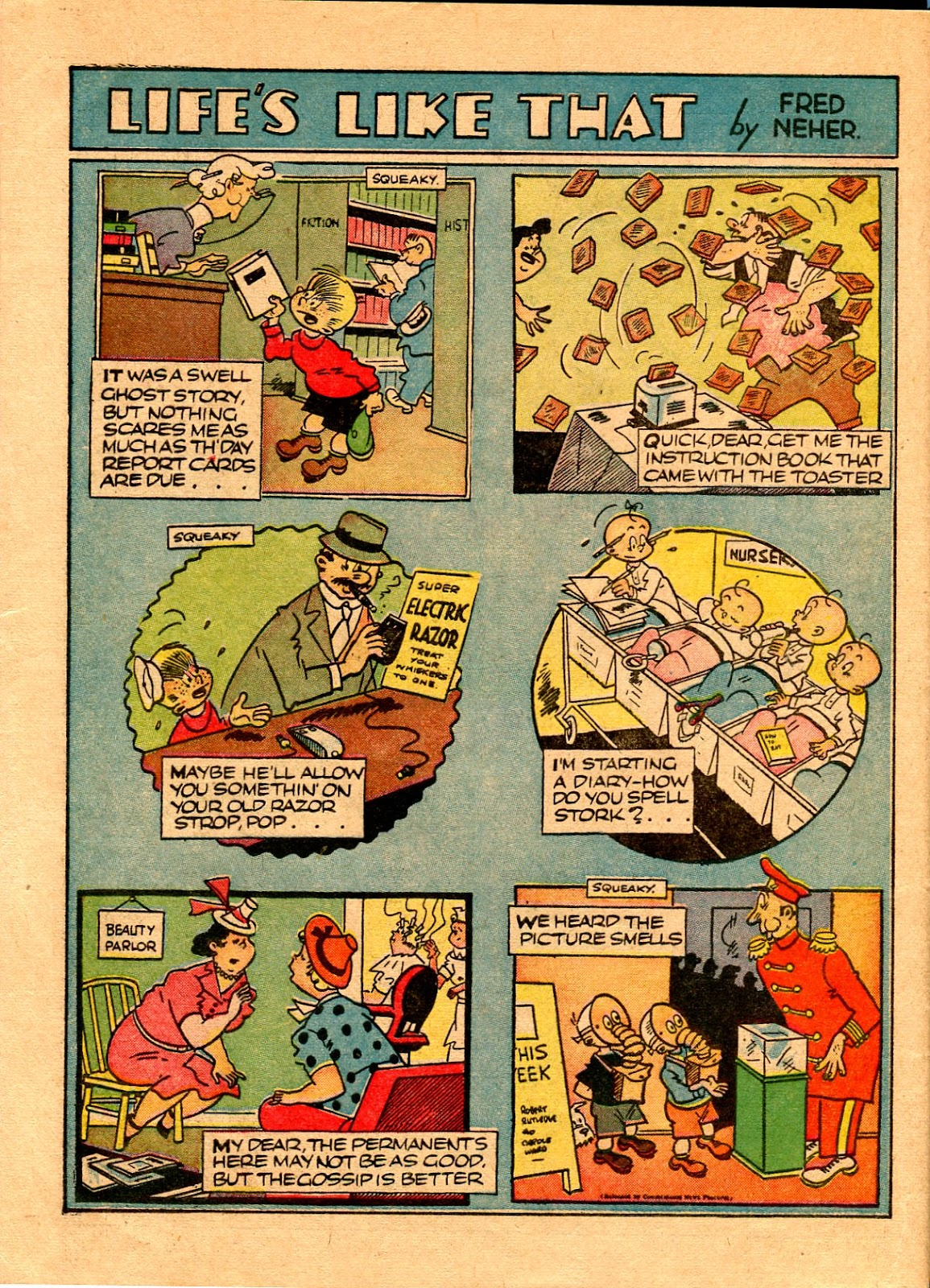 Read online Famous Funnies comic -  Issue #67 - 57
