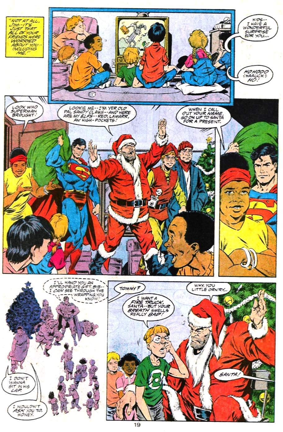 Read online Adventures of Superman (1987) comic -  Issue #487 - 20