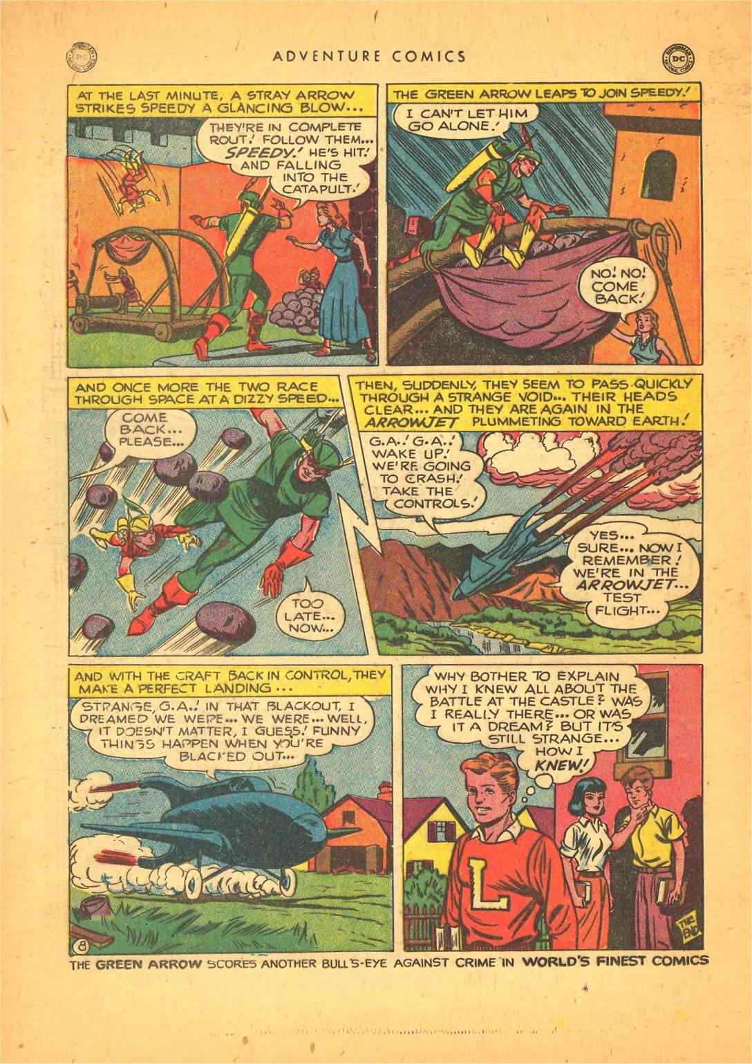Read online Adventure Comics (1938) comic -  Issue #148 - 30