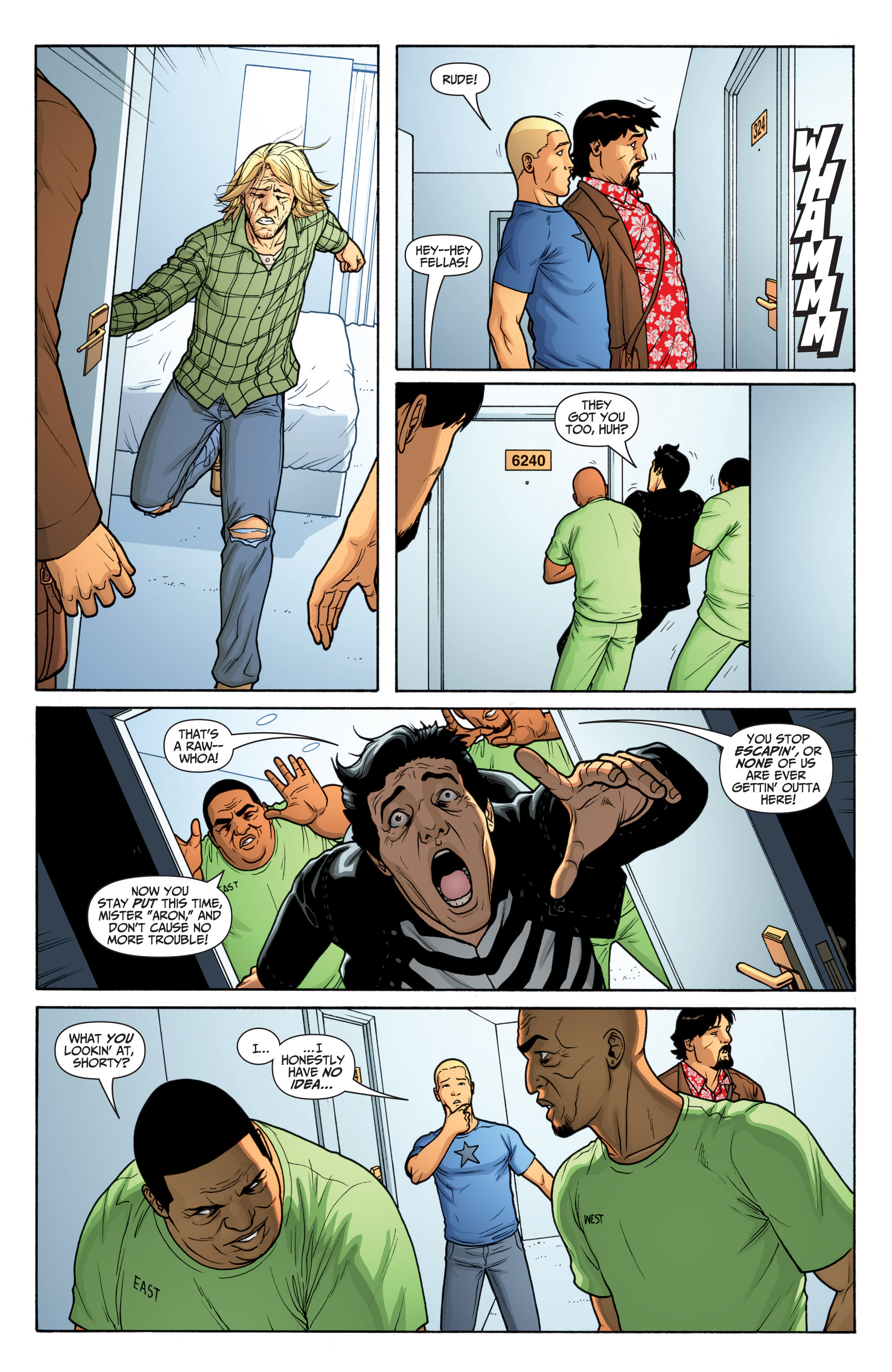 Read online Archer and Armstrong comic -  Issue #Archer and Armstrong _TPB 6 - 23