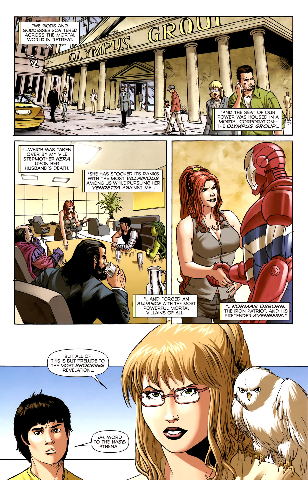 Read online Assault on New Olympus Prologue comic -  Issue #Assault on New Olympus Prologue Full - 4