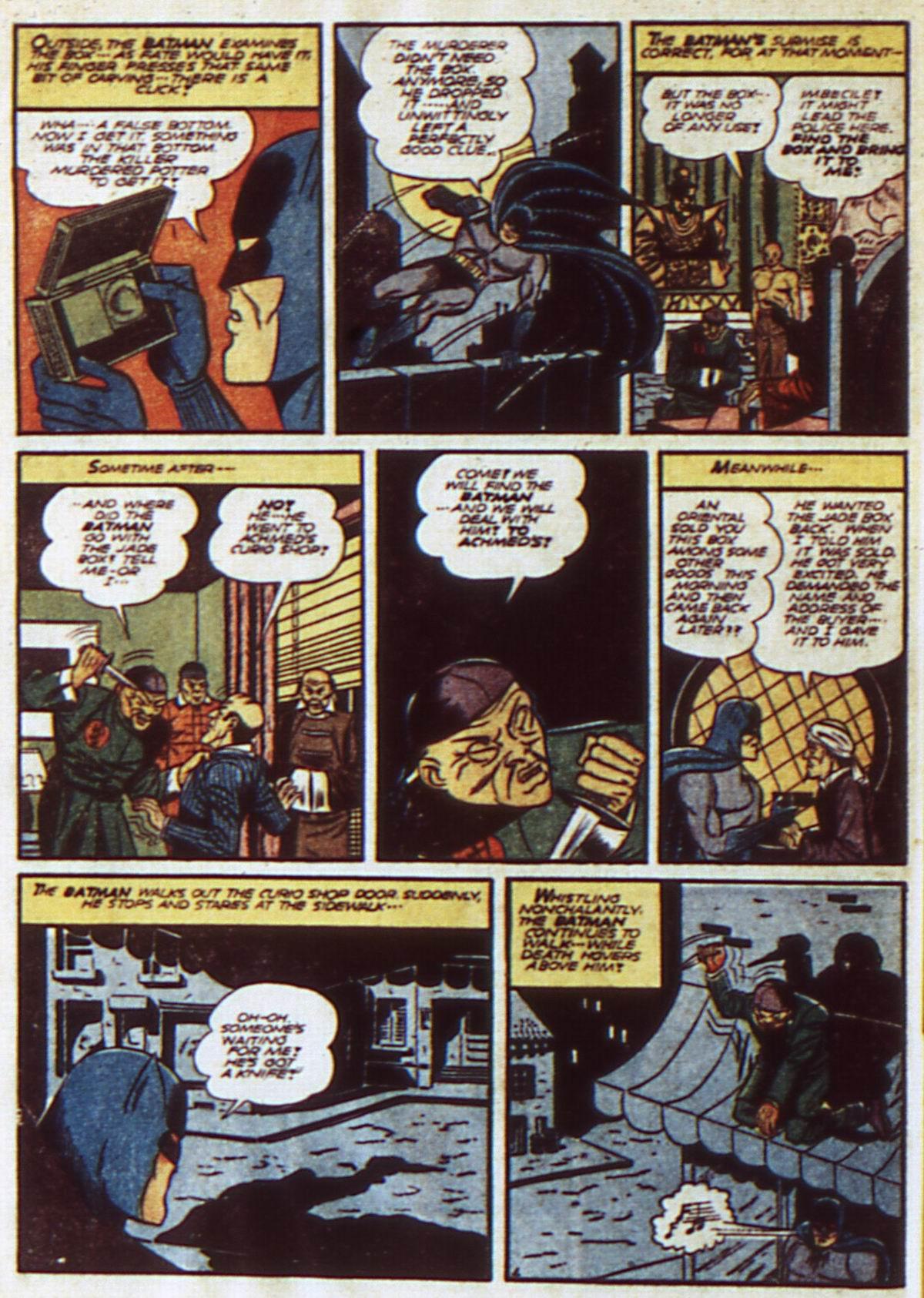 Read online Detective Comics (1937) comic -  Issue #52 - 6