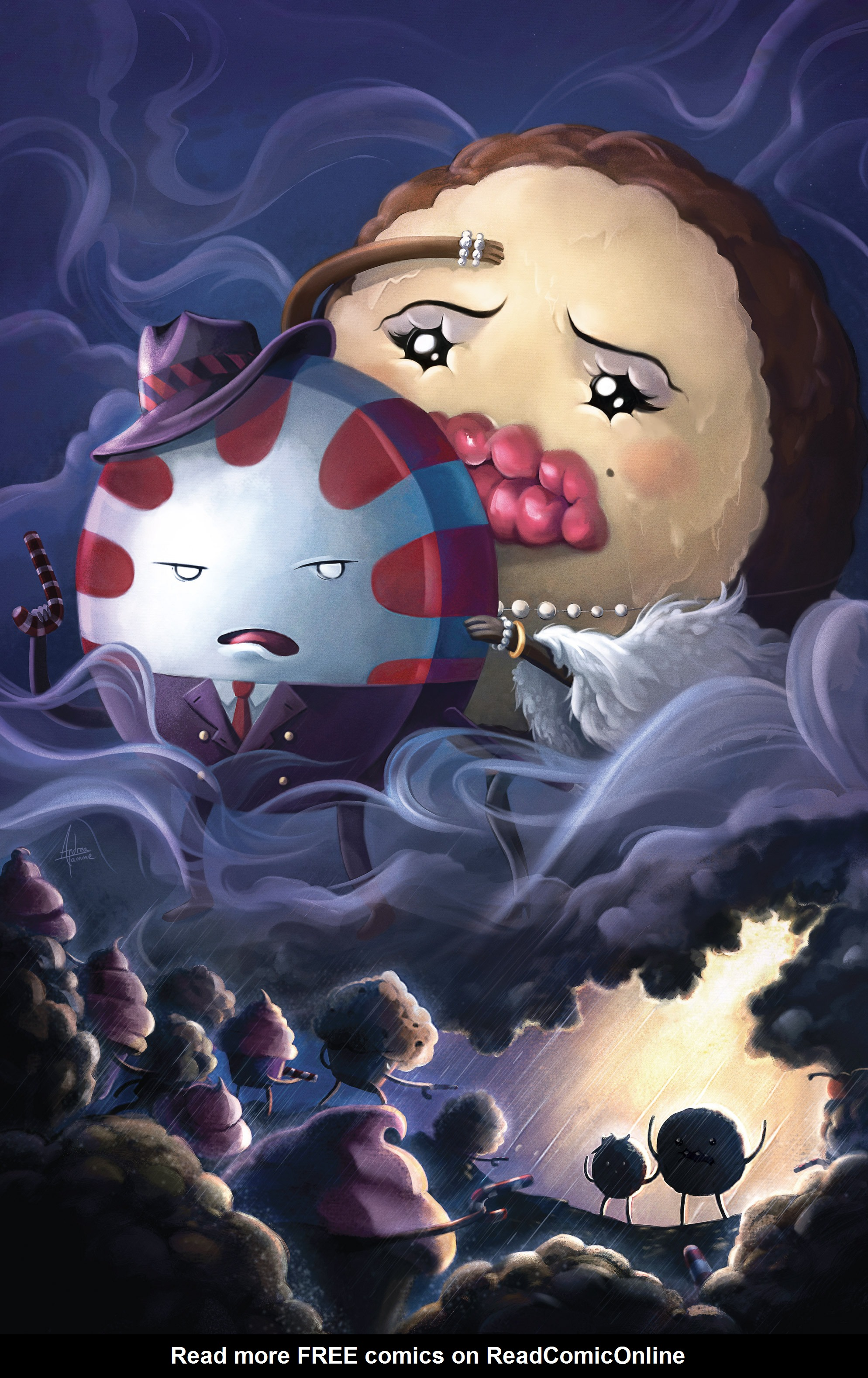 Read online Adventure Time: Candy Capers comic -  Issue #3 - 3