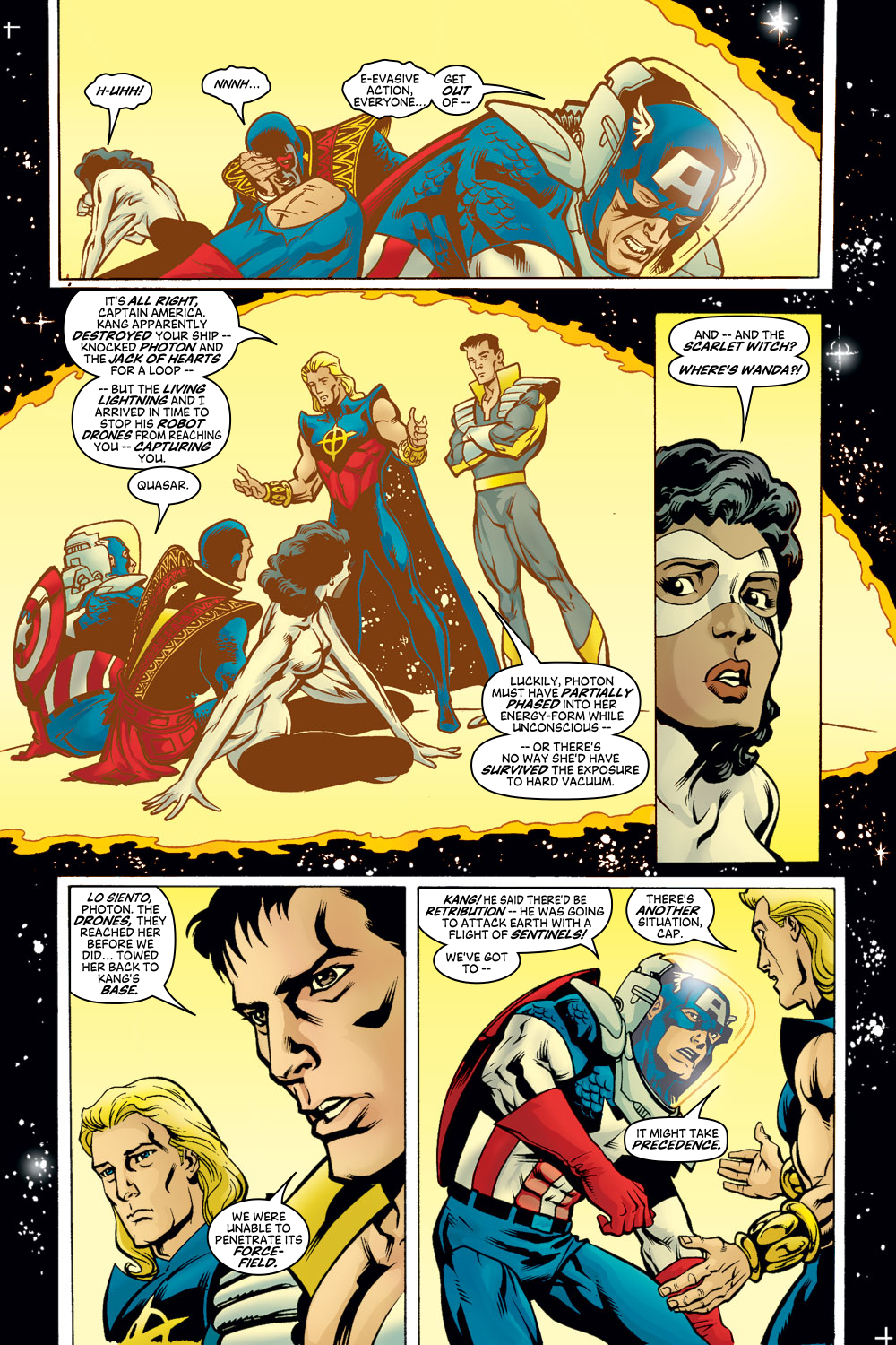 Read online Avengers (1998) comic -  Issue #50 - 4