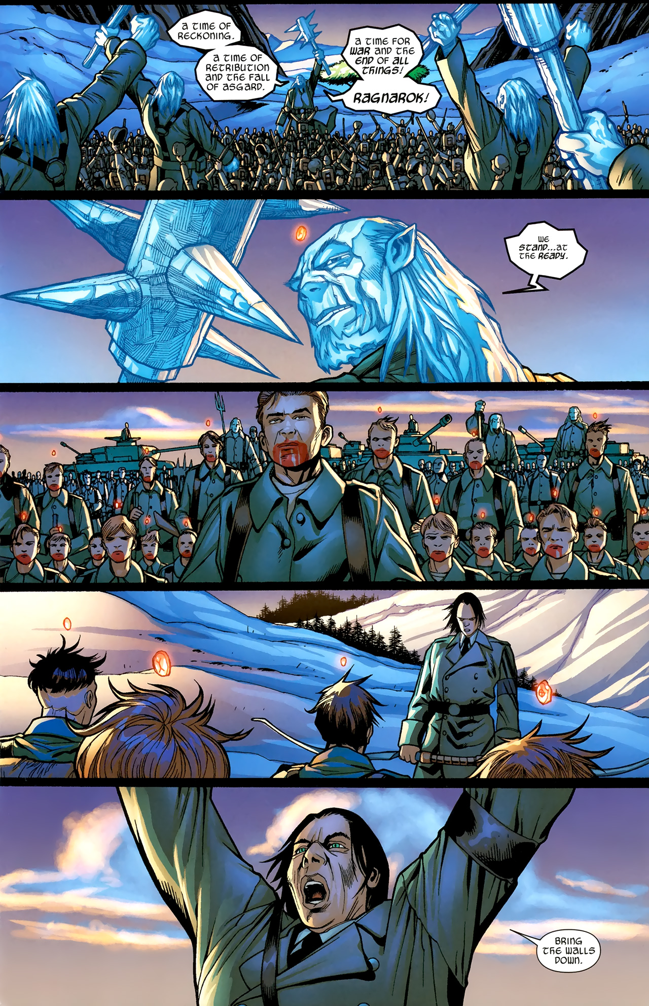 Read online Ultimate Thor comic -  Issue #3 - 4