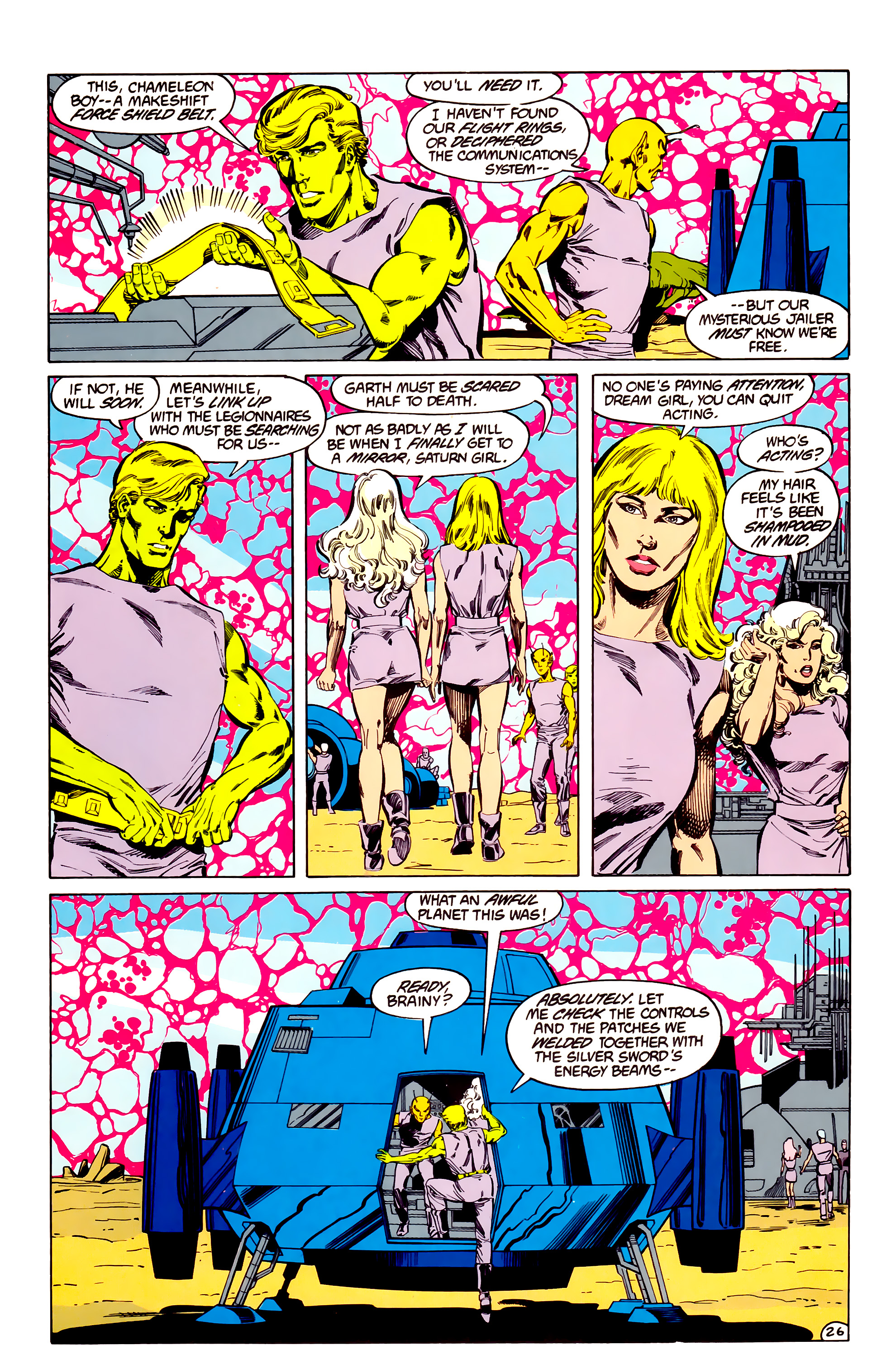 Legion of Super-Heroes (1984) 33 Page 26
