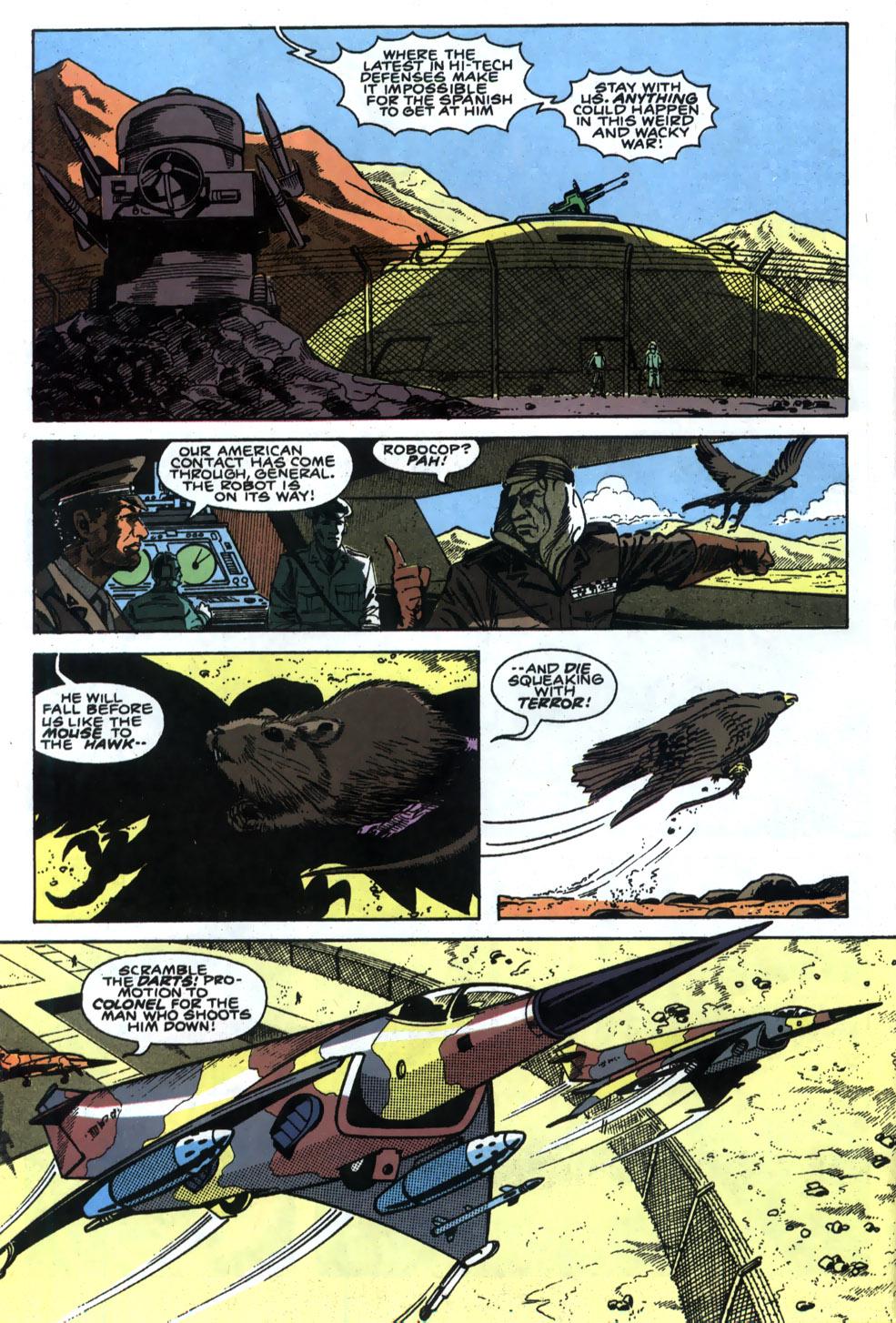 Read online Robocop (1990) comic -  Issue #5 - 10