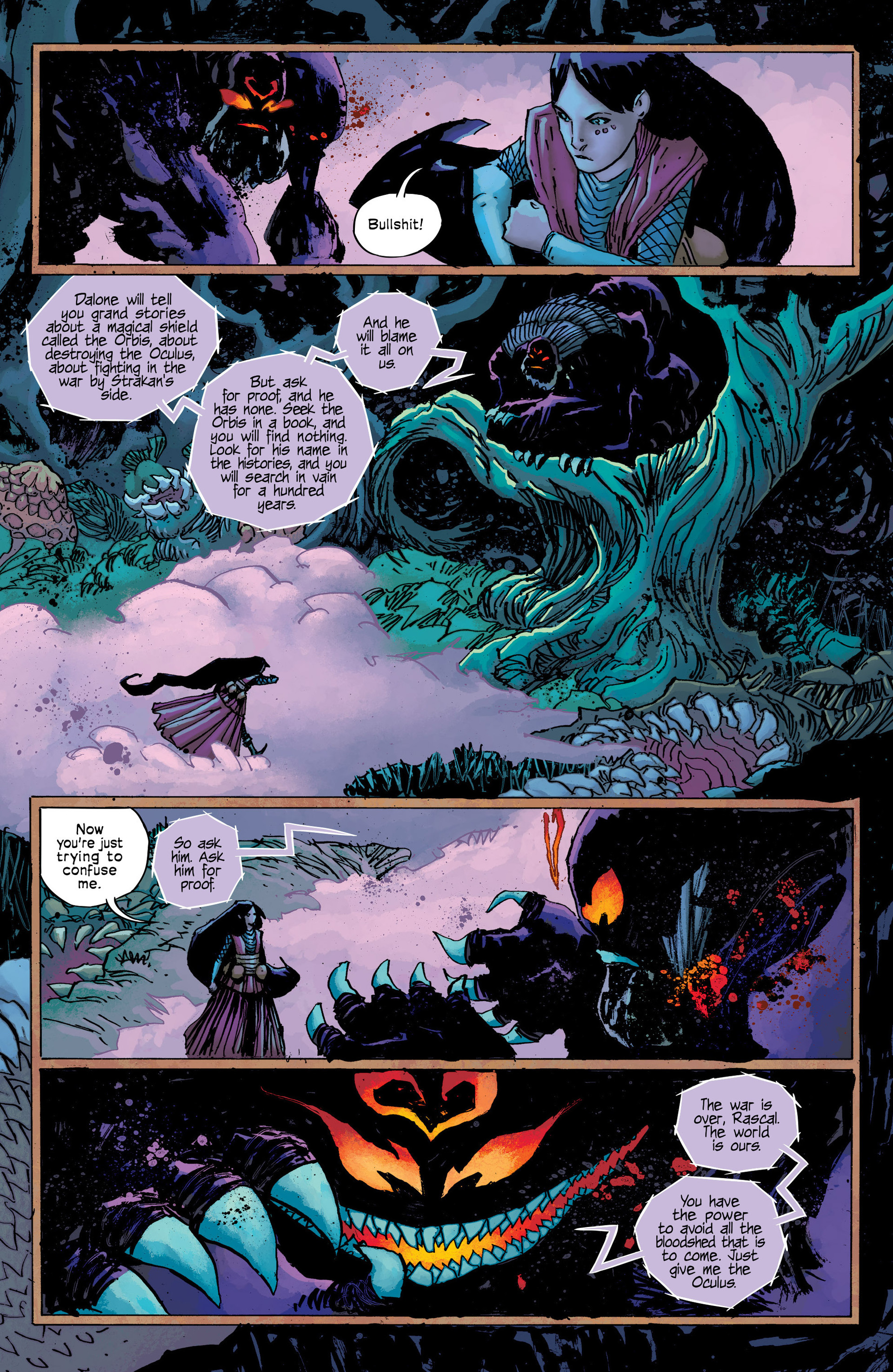 Read online Umbral comic -  Issue #9 - 22