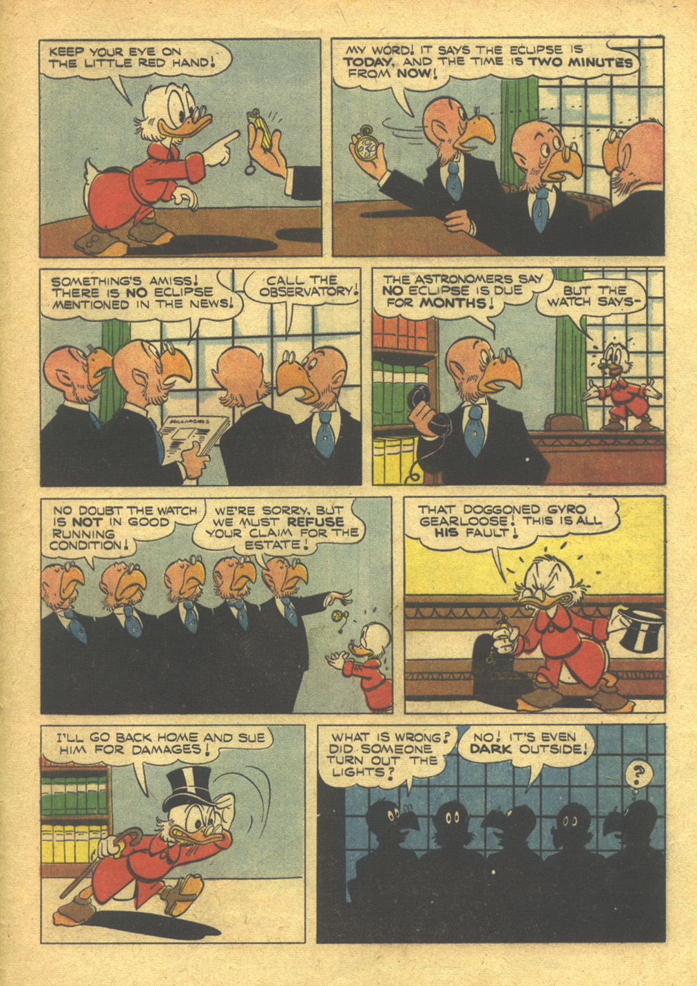Read online Uncle Scrooge (1953) comic -  Issue #10 - 33