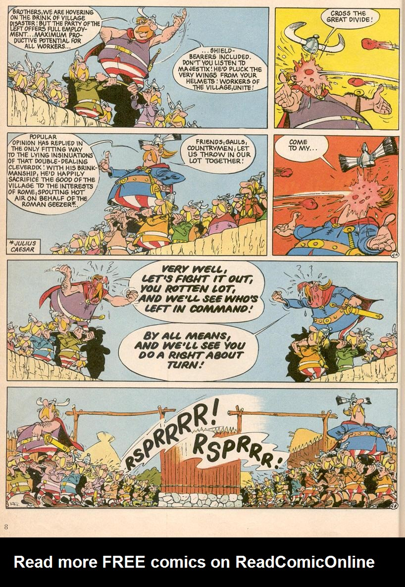 Read online Asterix comic -  Issue #25 - 5