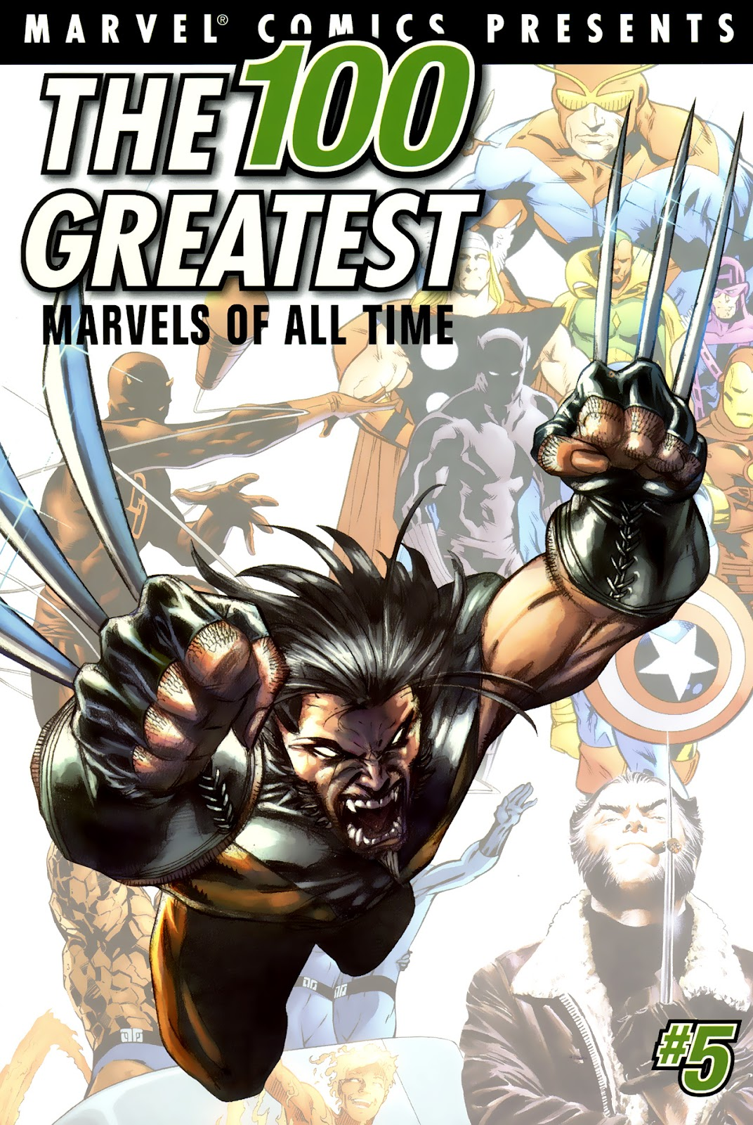 The 100 Greatest Marvels of All Time 6 Page 1