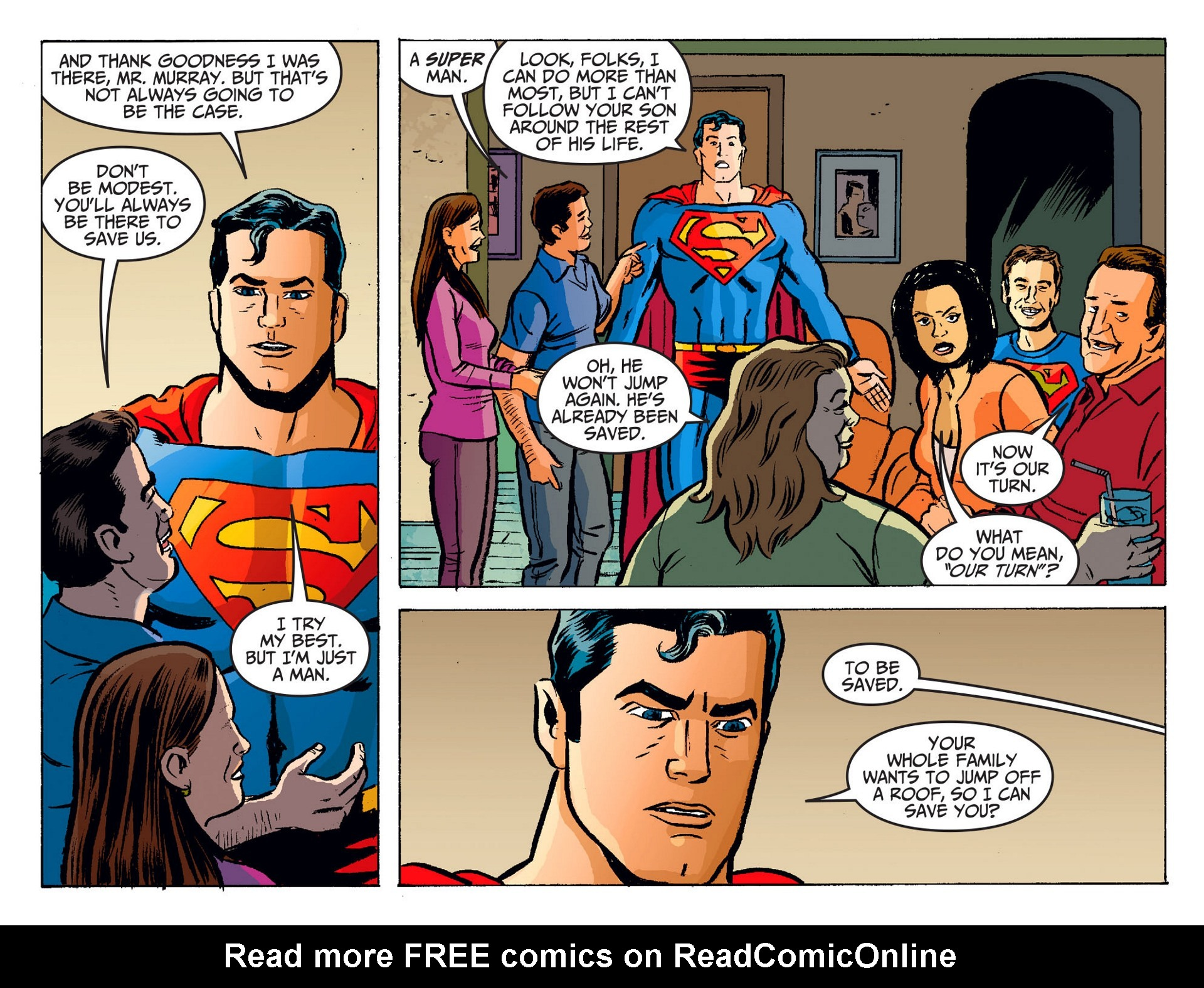 Read online Adventures of Superman [I] comic -  Issue #19 - 18