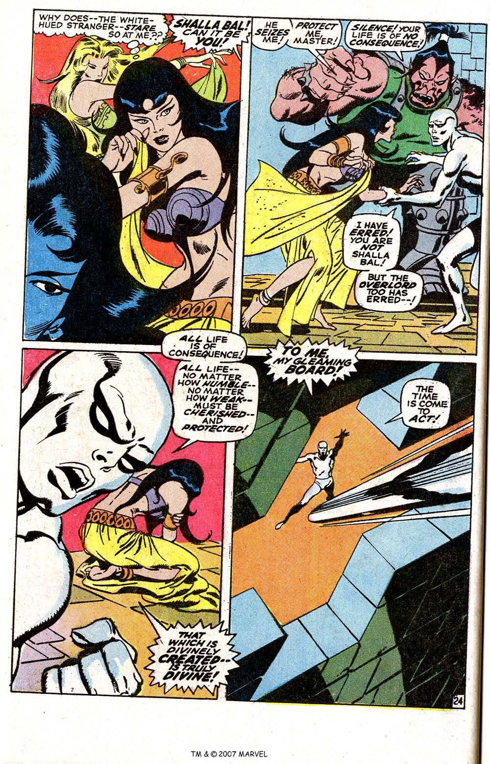 Silver Surfer (1968) issue 6 - Page 30