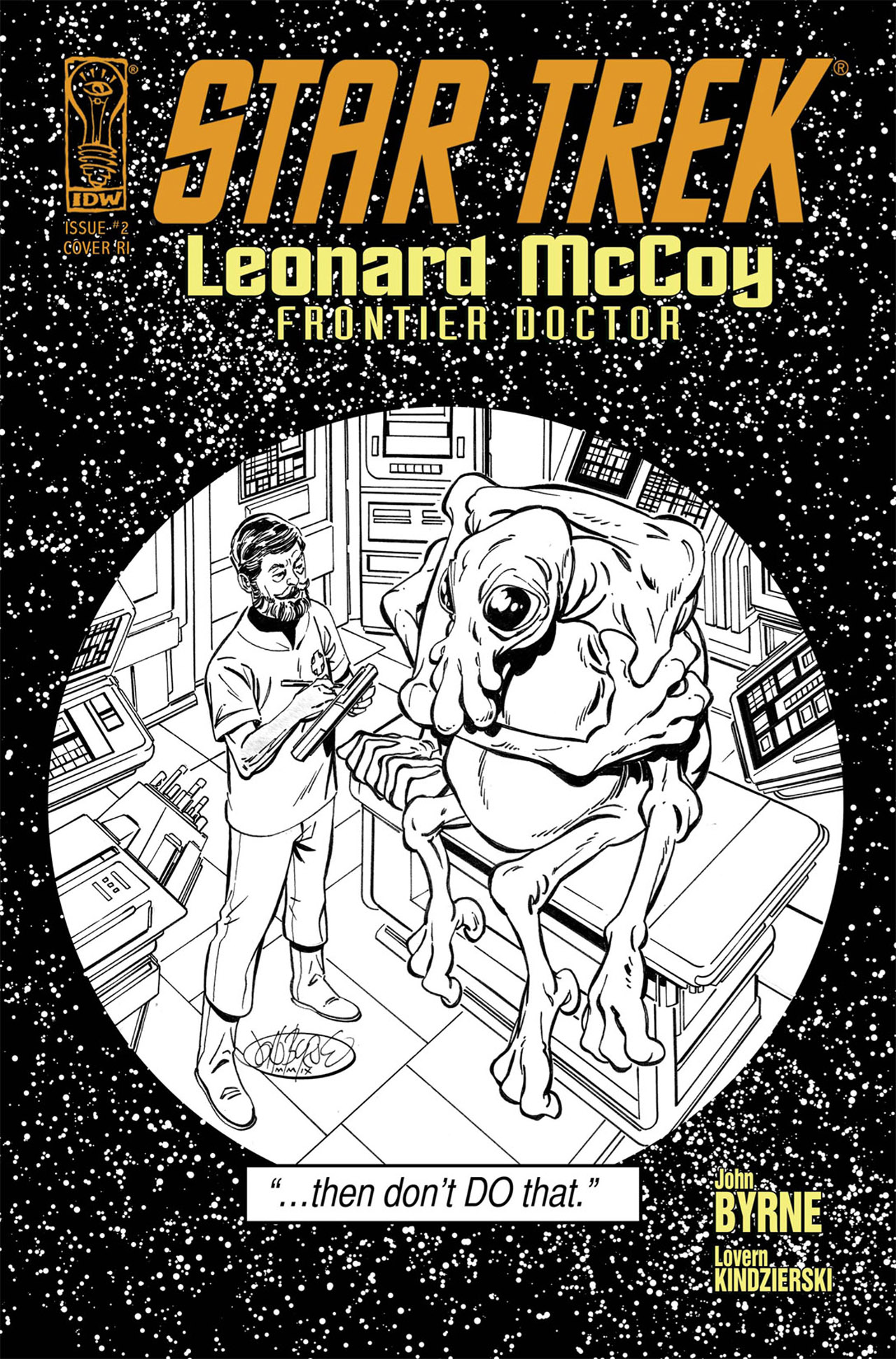 Read online Star Trek: Leonard McCoy, Frontier Doctor comic -  Issue #2 - 3