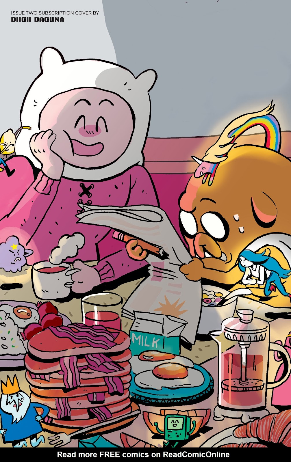 Read online Adventure Time: Beginning of the End comic -  Issue # _TPB - 102
