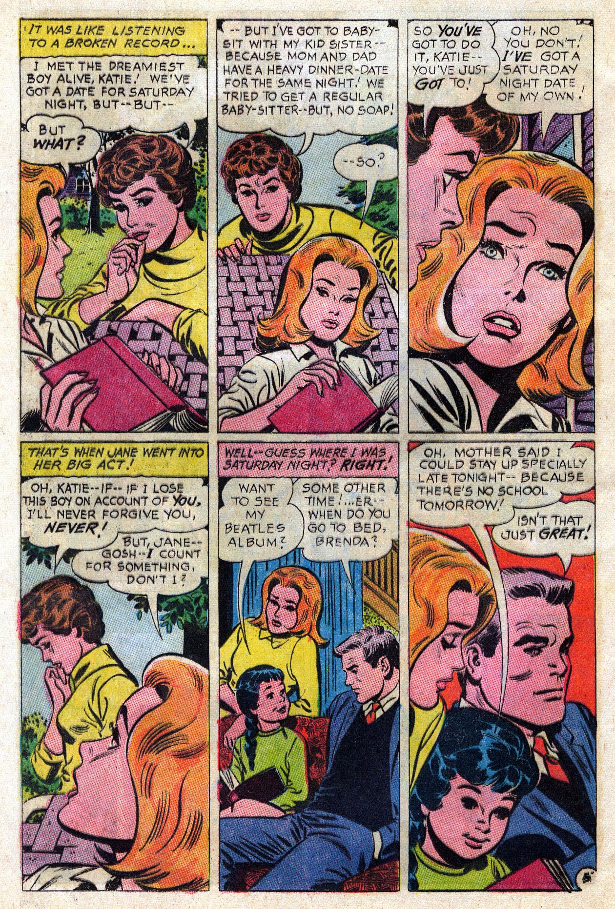Read online Secret Hearts comic -  Issue #109 - 27