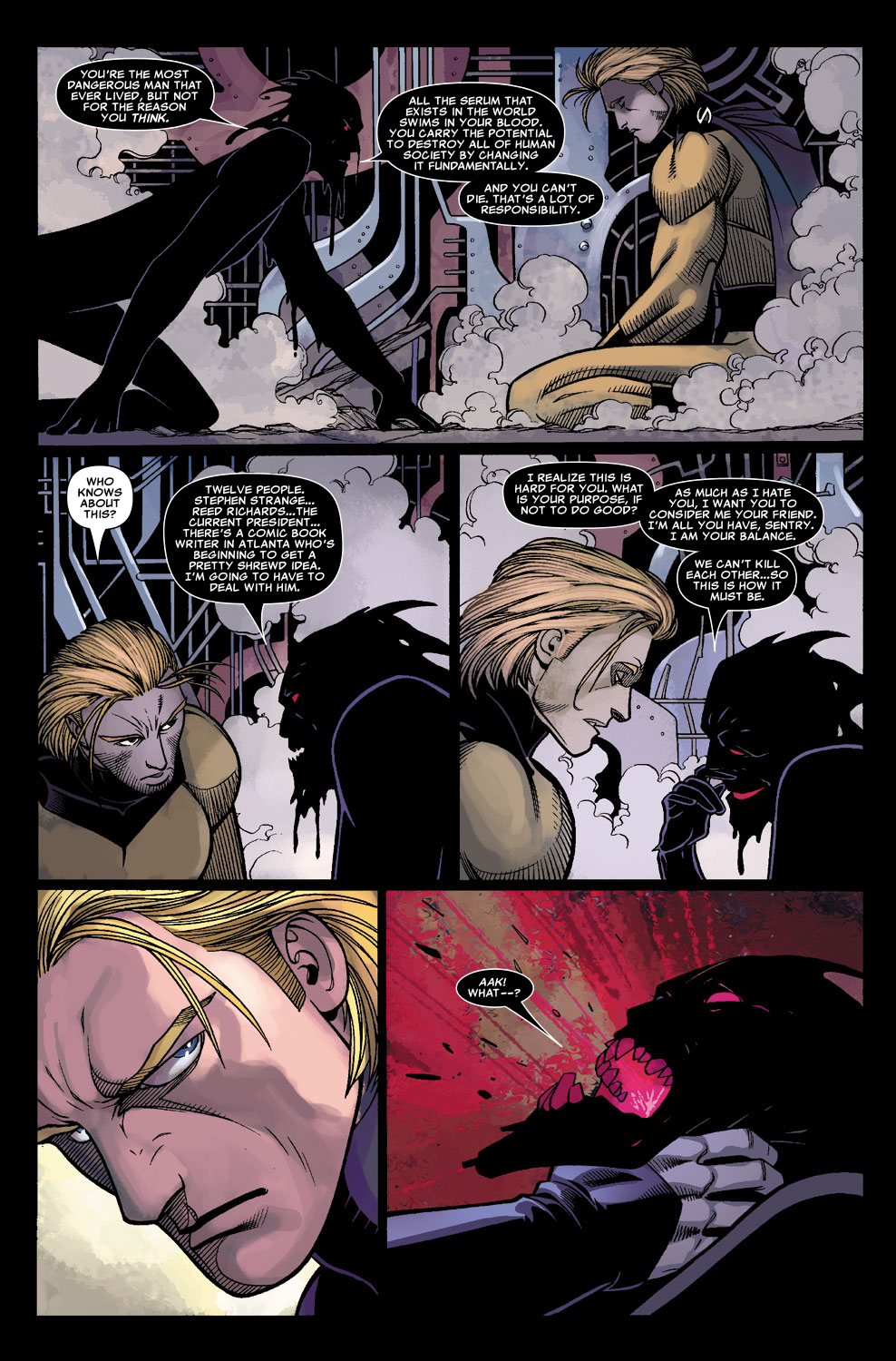 Read online Sentry (2006) comic -  Issue #8 - 20