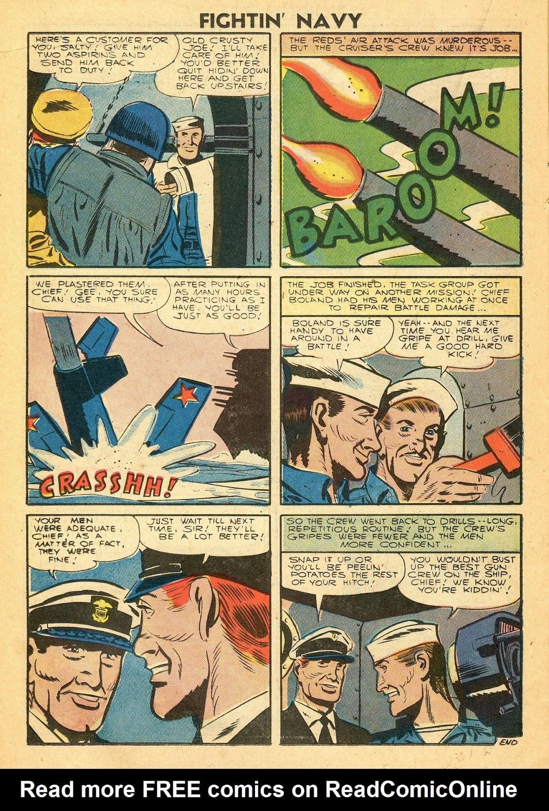 Read online Fightin' Navy comic -  Issue #77 - 14