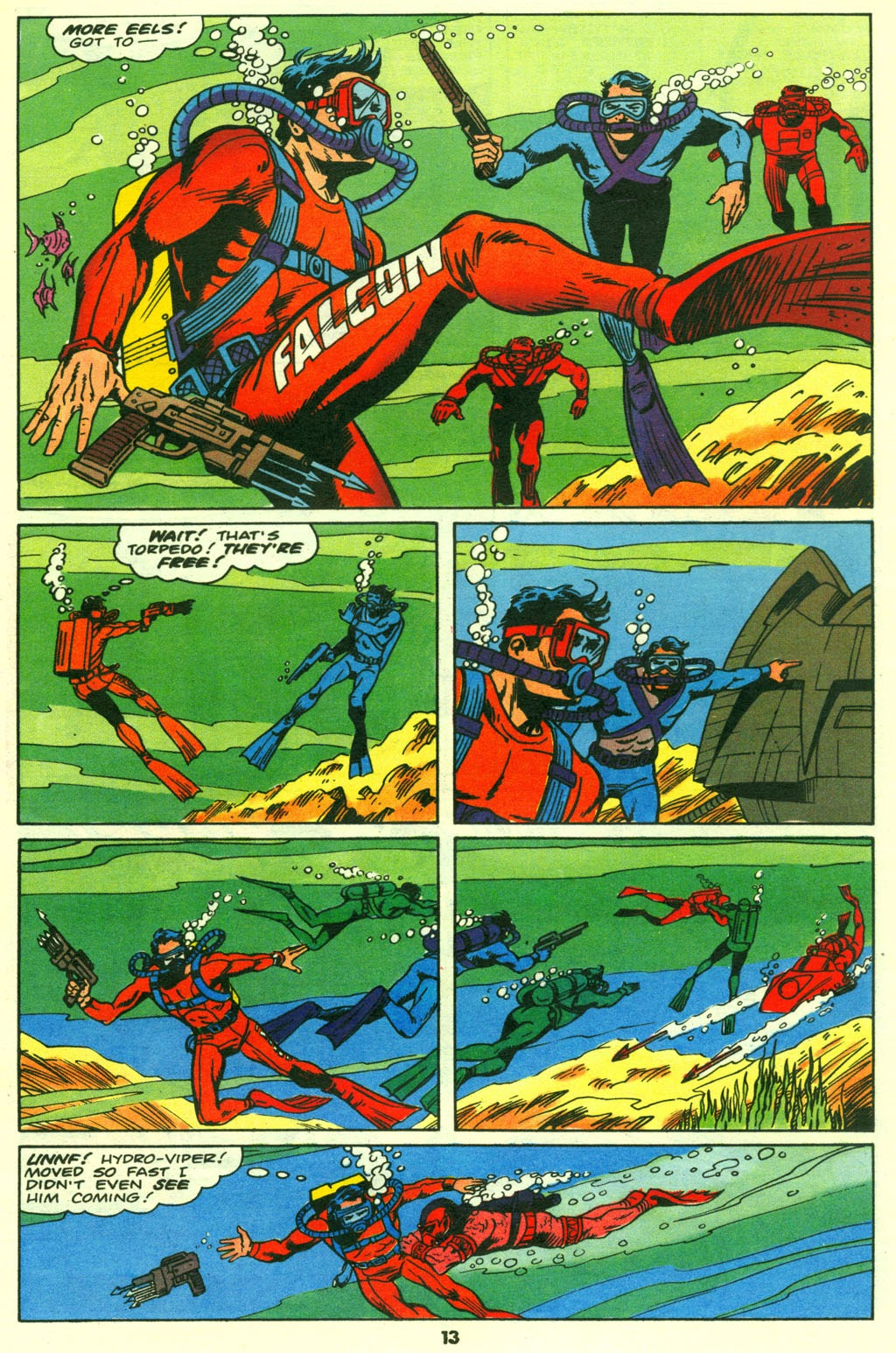 G.I. Joe European Missions issue 14 - Page 14