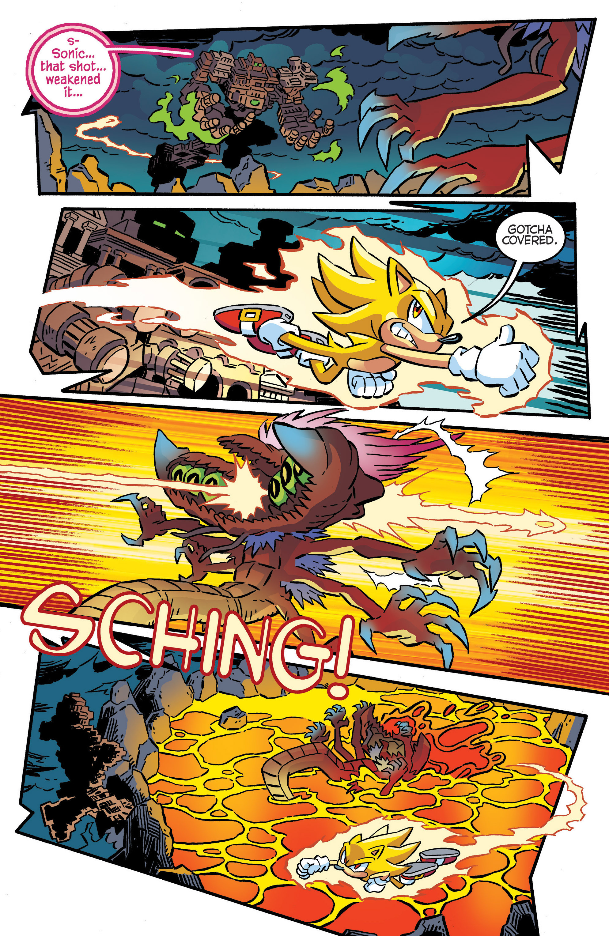 Read online Sonic The Hedgehog comic -  Issue #287 - 13