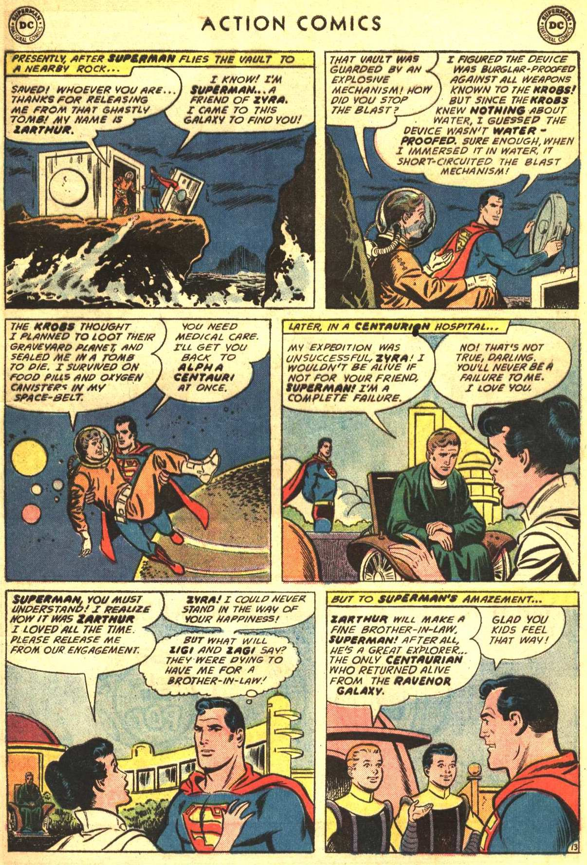 Read online Action Comics (1938) comic -  Issue #316 - 16