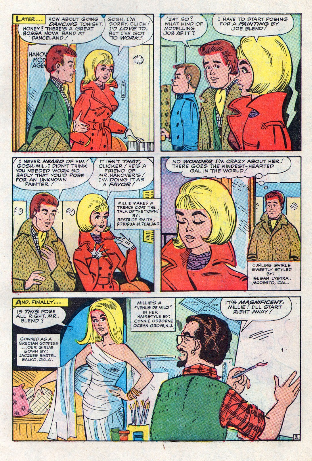 Read online Millie the Model comic -  Issue # Annual 6 - 63