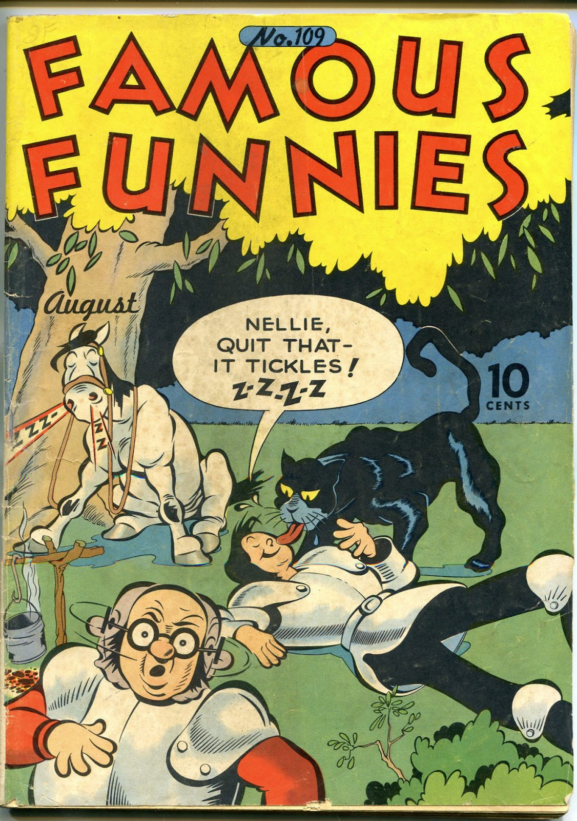 Read online Famous Funnies comic -  Issue #109 - 1