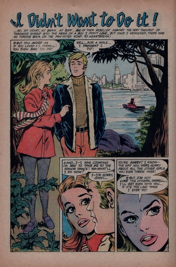 Read online Secret Hearts comic -  Issue #145 - 22